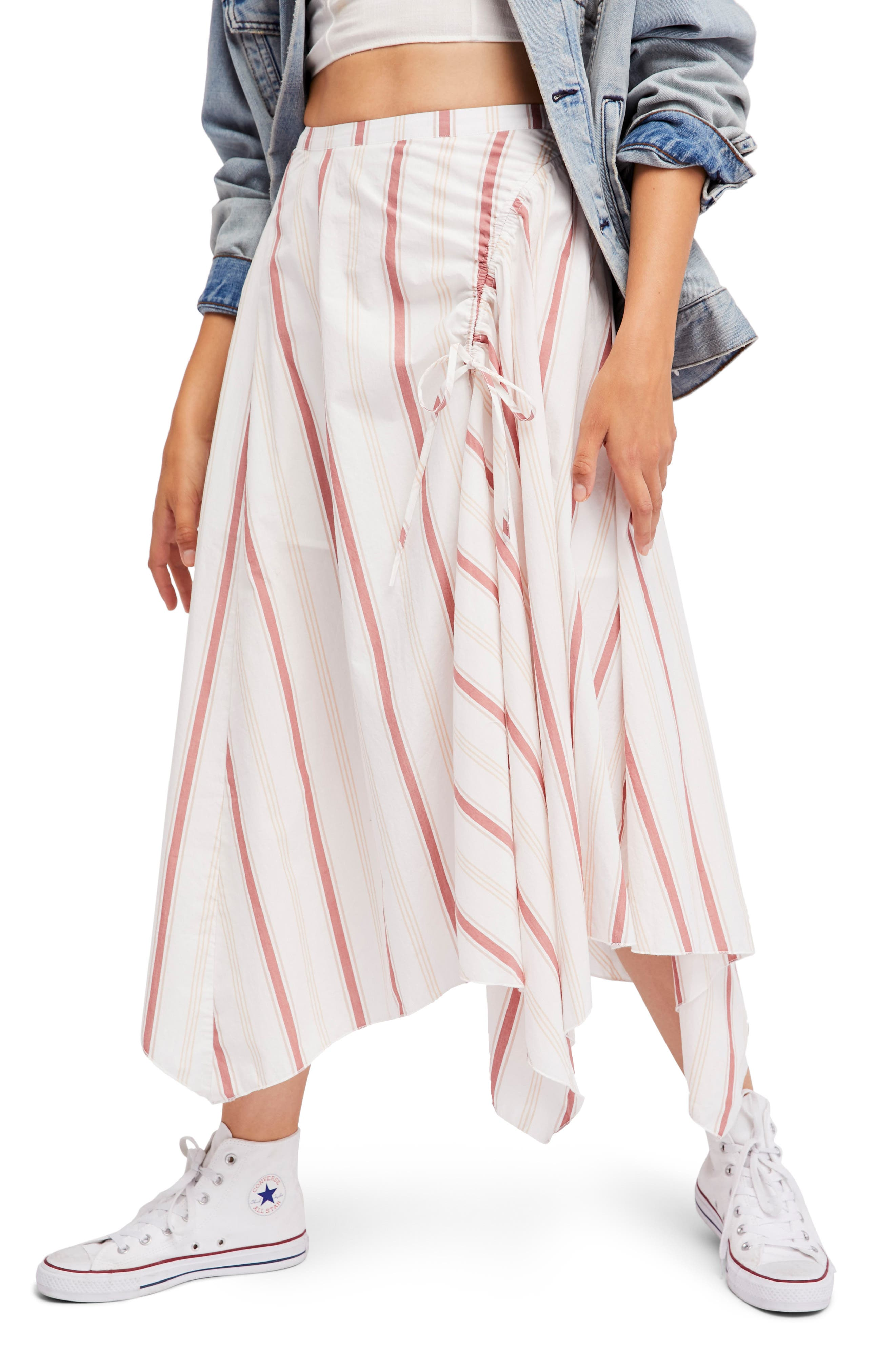 Main Image - Free People Hooked on Your Love Midi Skirt