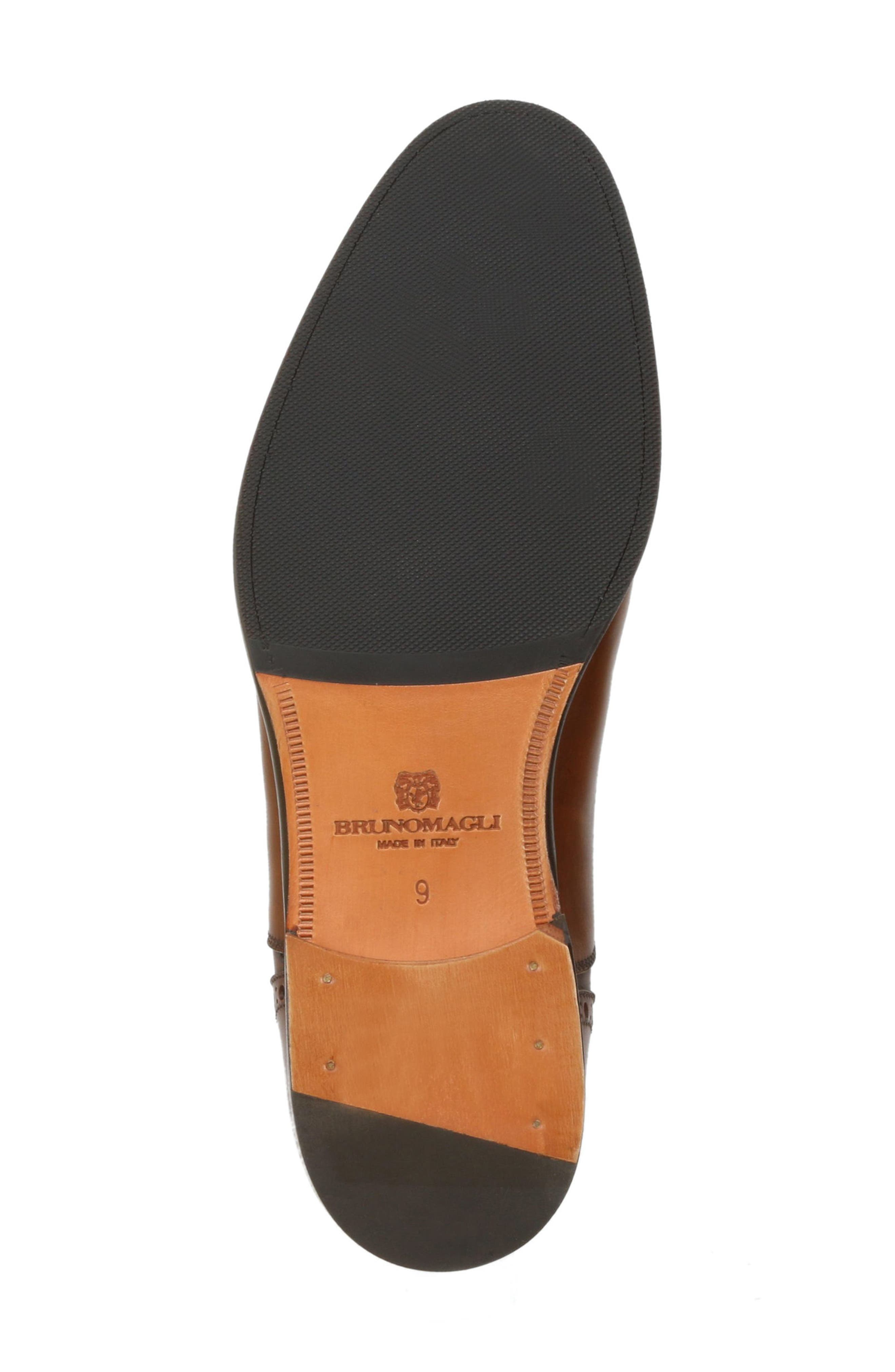 Pisa Cap Toe Oxford,                             Alternate thumbnail 6, color,                             Cognac