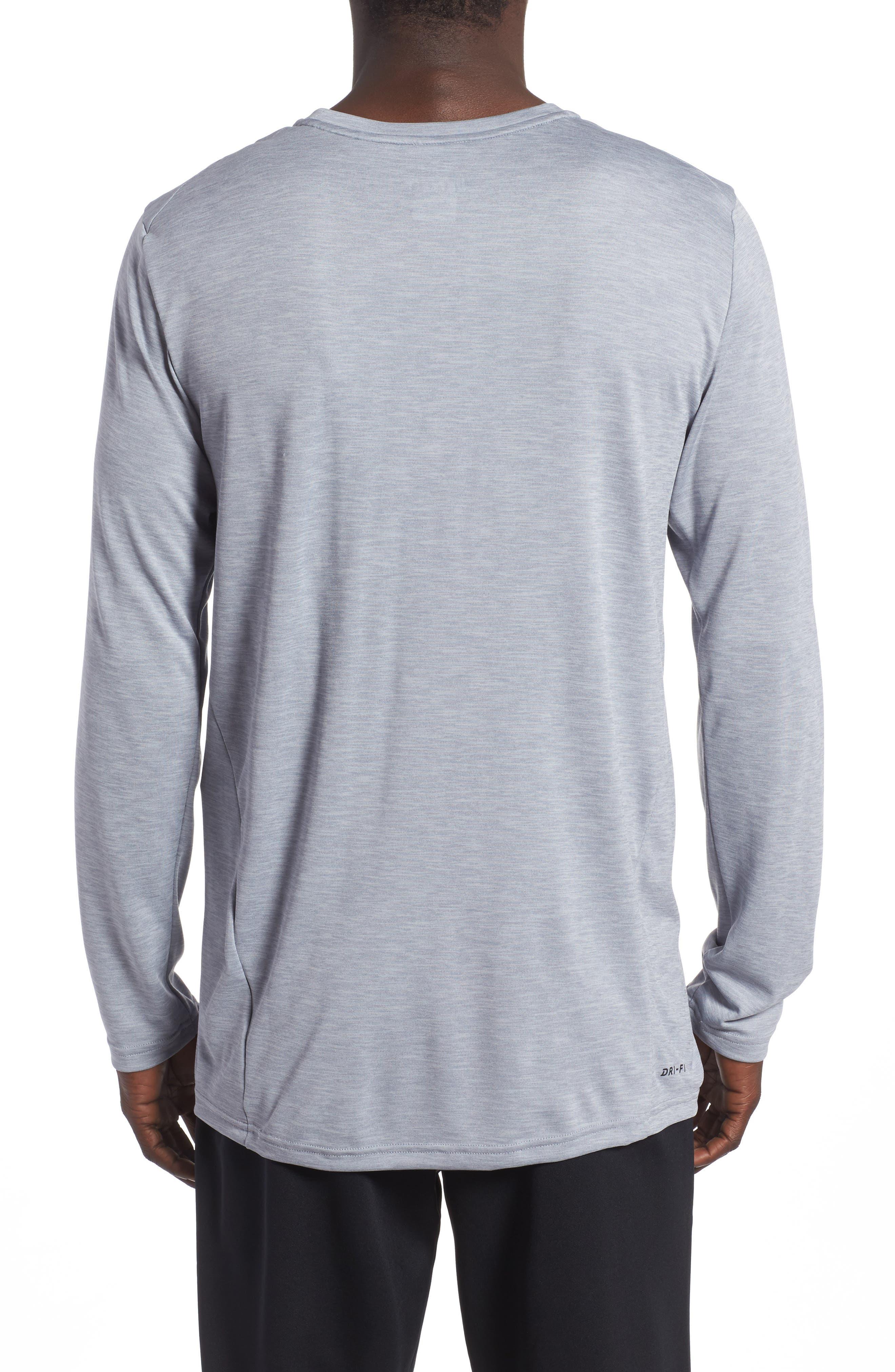 Alternate Image 2  - Nike Long Sleeve Training T-Shirt