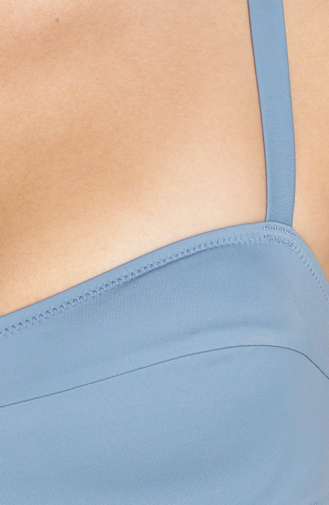The Quinn Bikini Top,                             Alternate thumbnail 8, color,                             Ice
