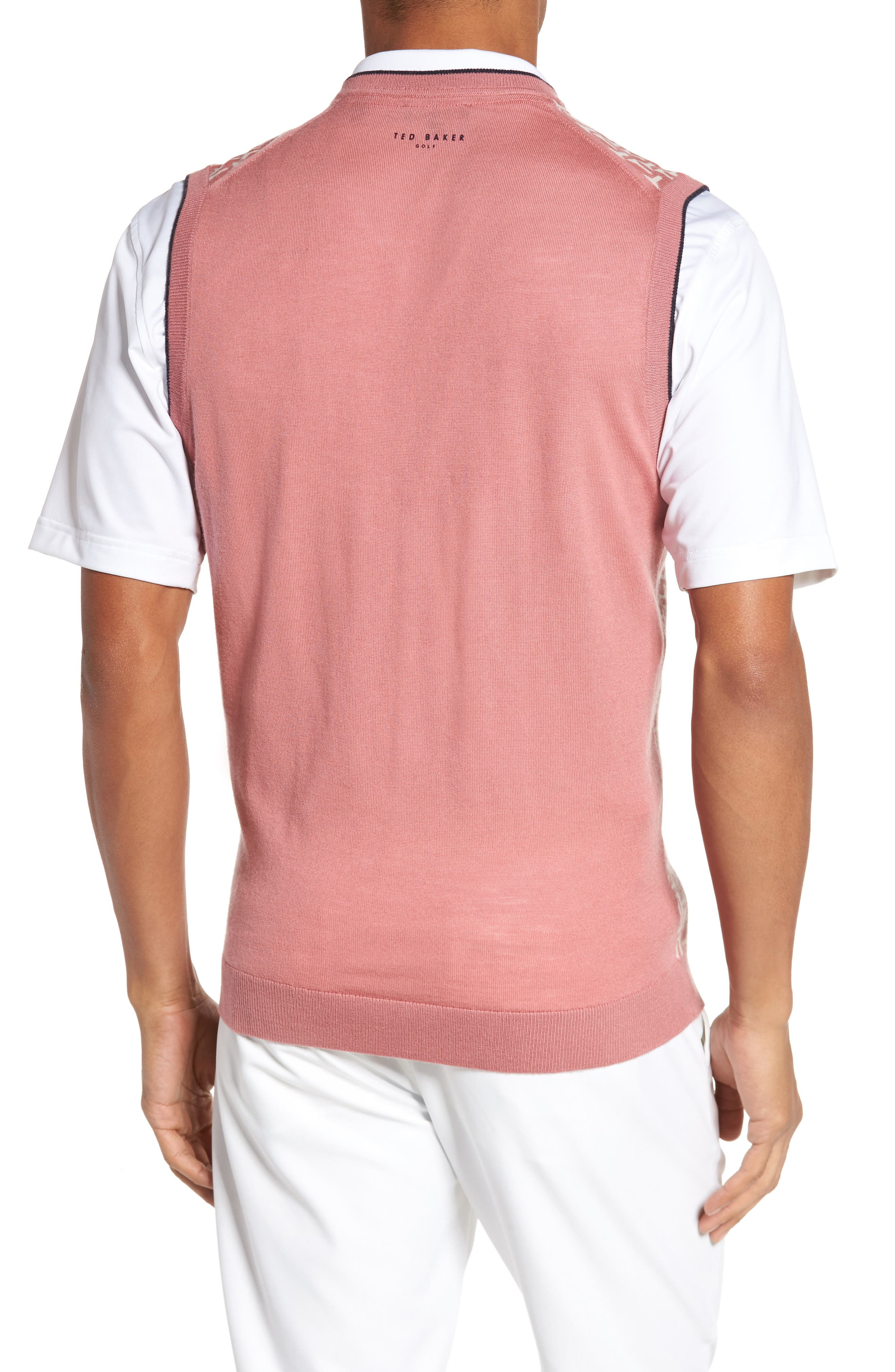 Alternate Image 2  - Ted Baker London Tommas Golf Merino Sweater Vest