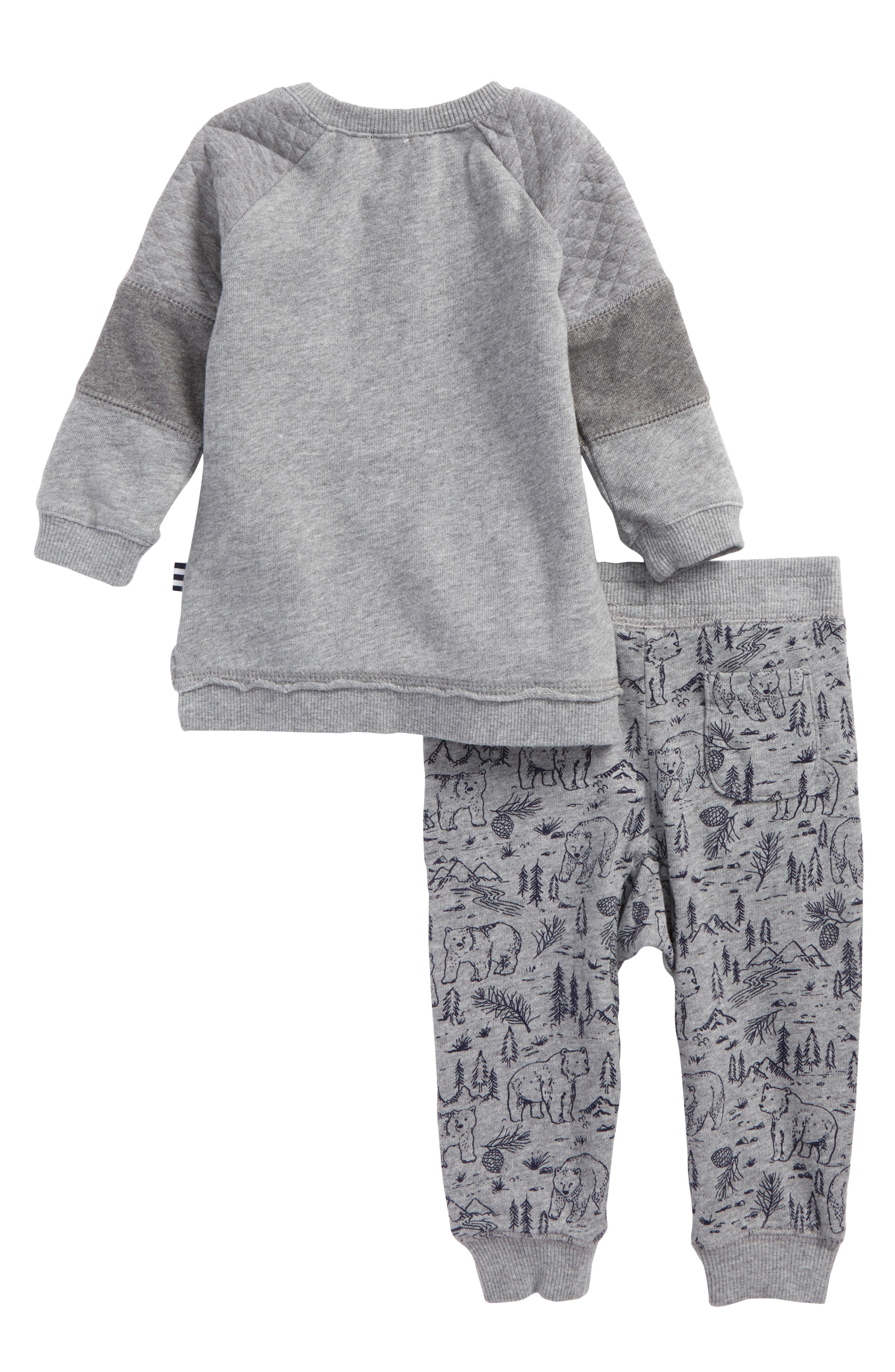 Alternate Image 2  - Splendid Sweatshirt & Sweatpants Set (Baby Boys)