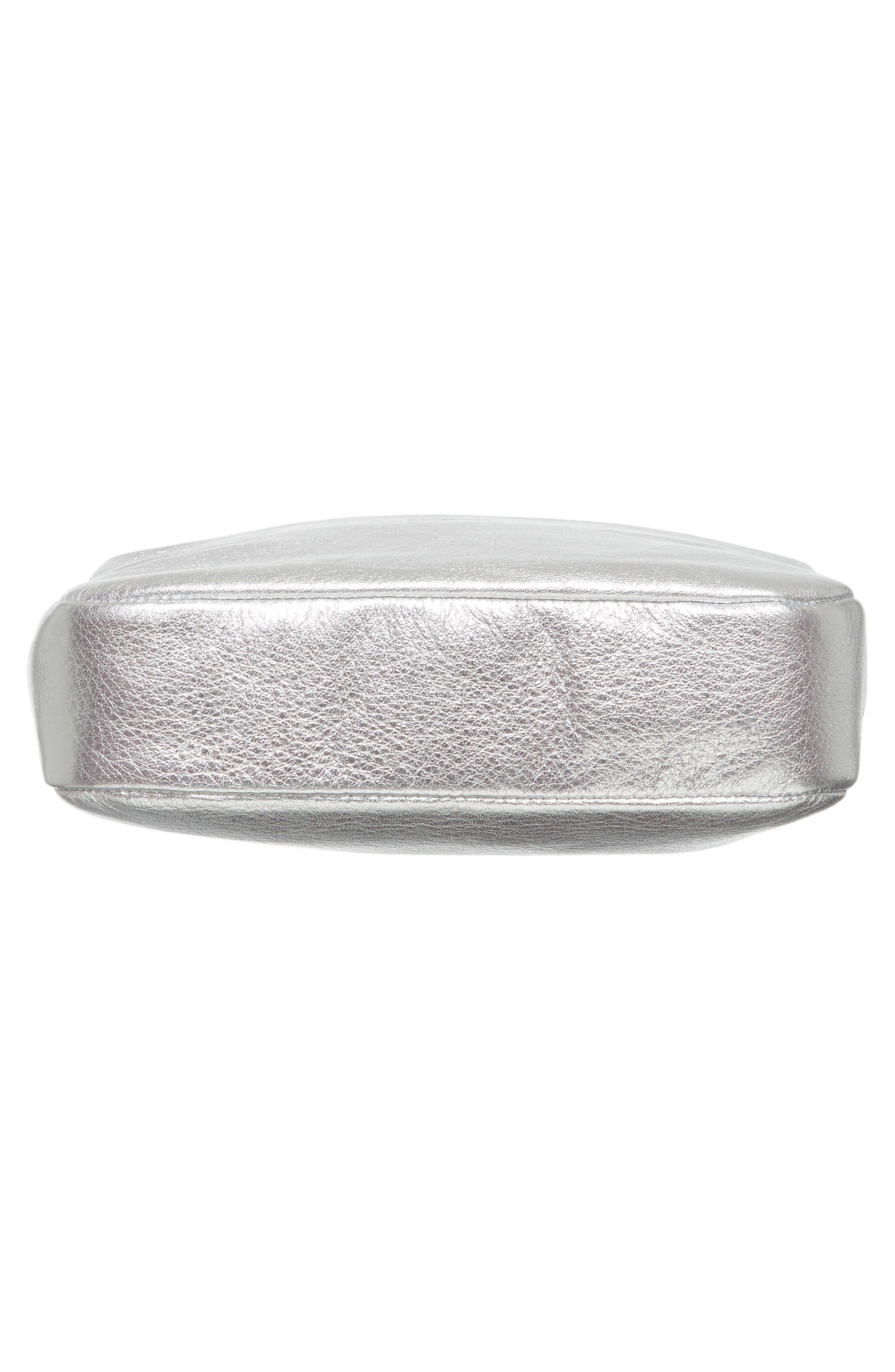 Alternate Image 4  - Baggu 'Mini' Pebbled Leather Crossbody