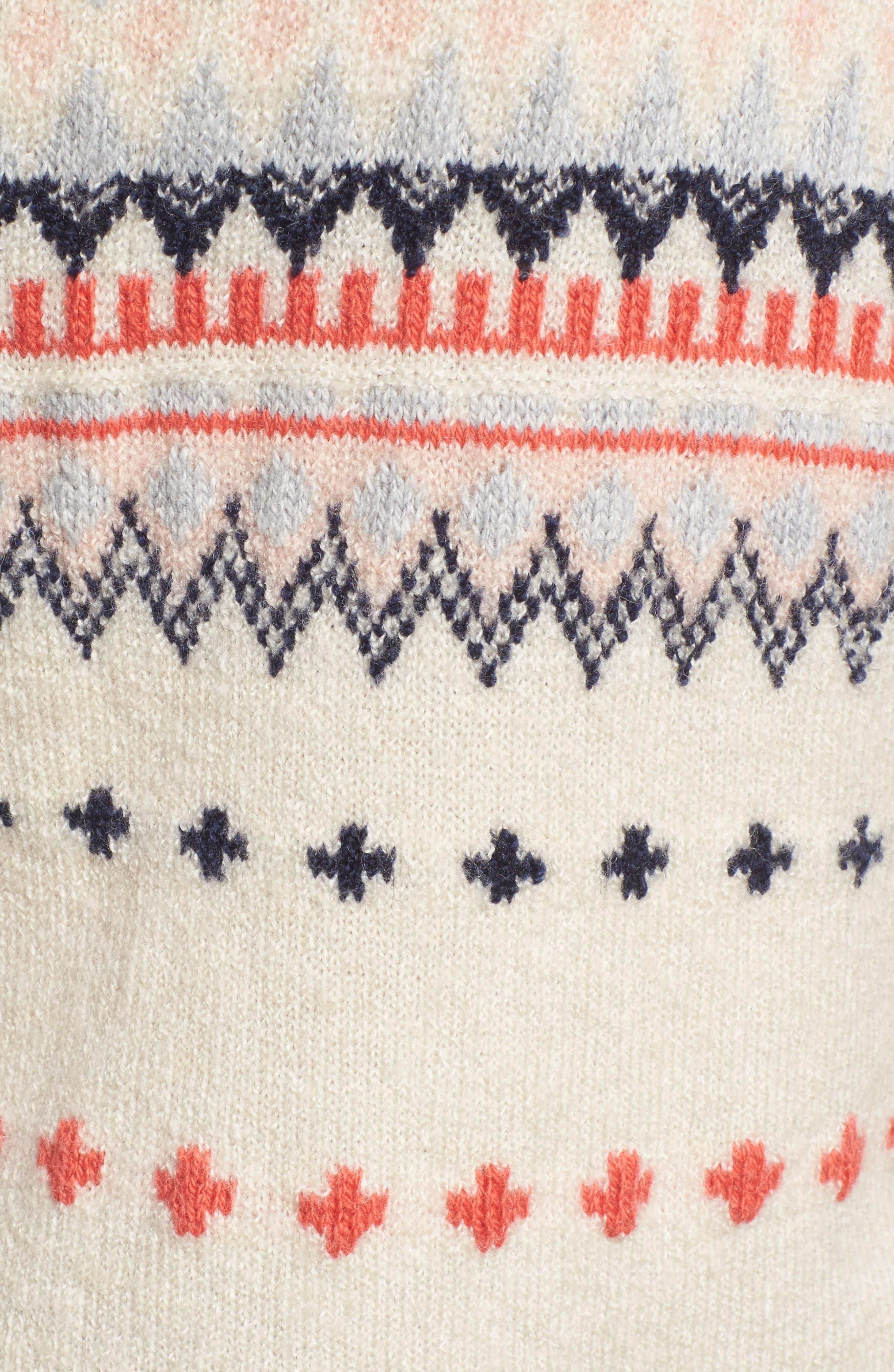 Alternate Image 5  - Caslon® Long Sleeve Side Button Sweater (Regular & Petite)