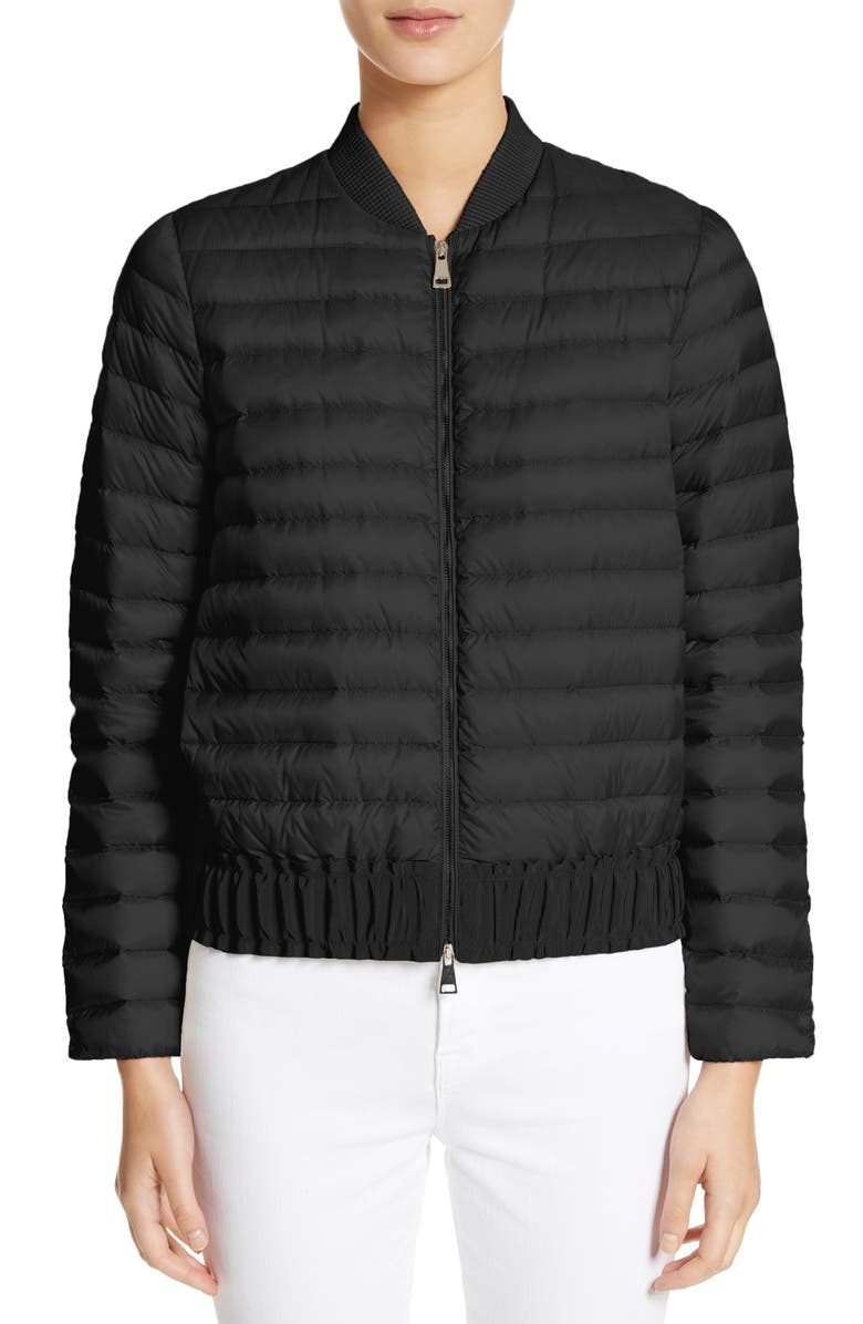 Barytine Quilted Bomber Jacket