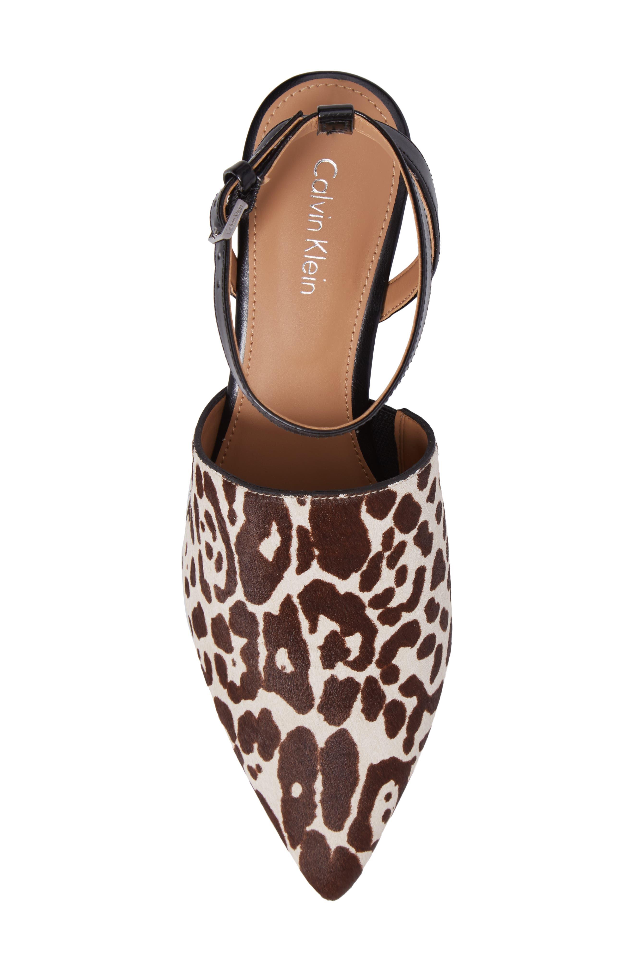 Alternate Image 5  - Calvin Klein Ginetta Ankle Strap Pump (Women)