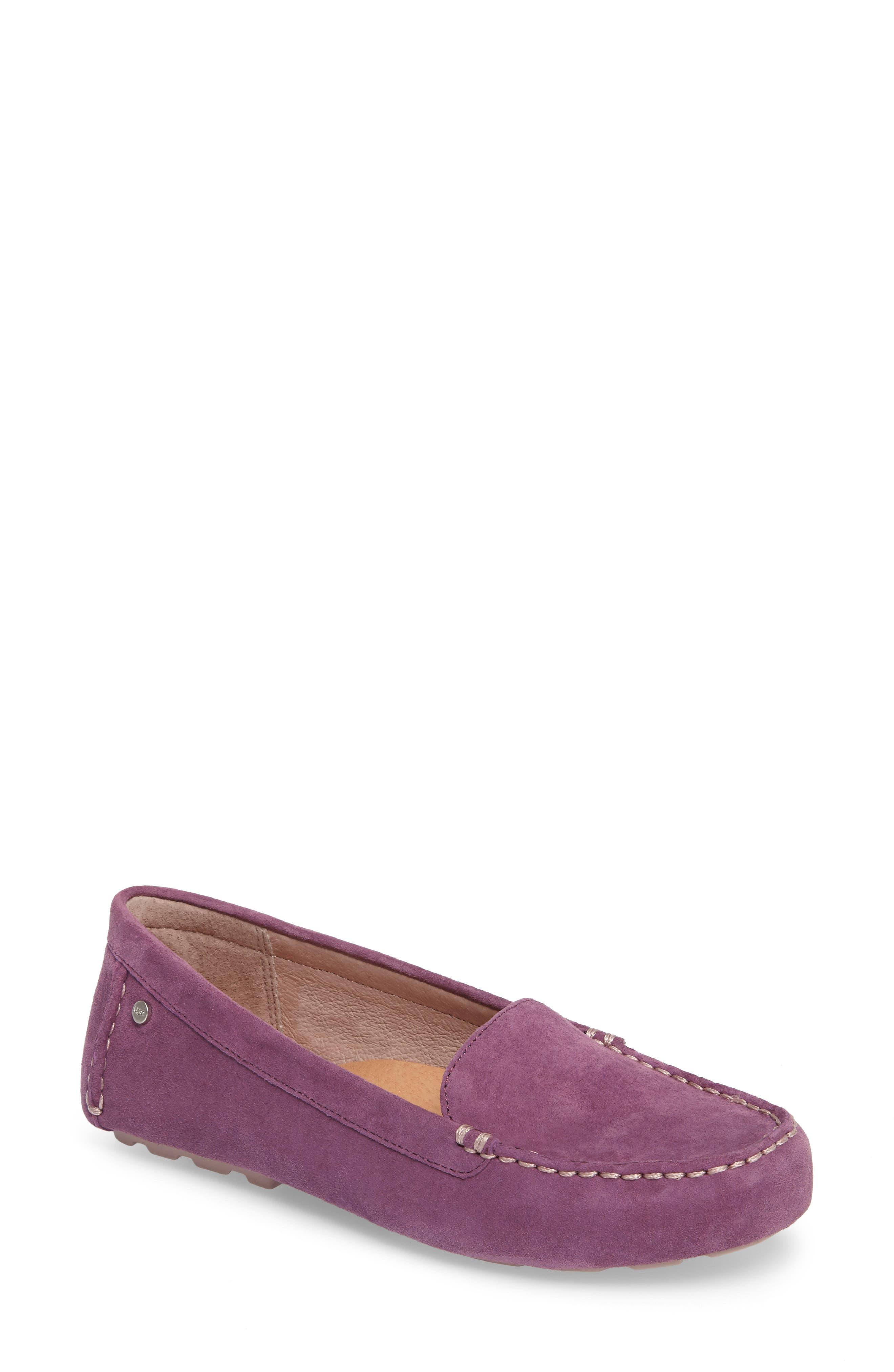 Alternate Image 1 Selected - UGG® Milana Moc Toe Flat (Women)