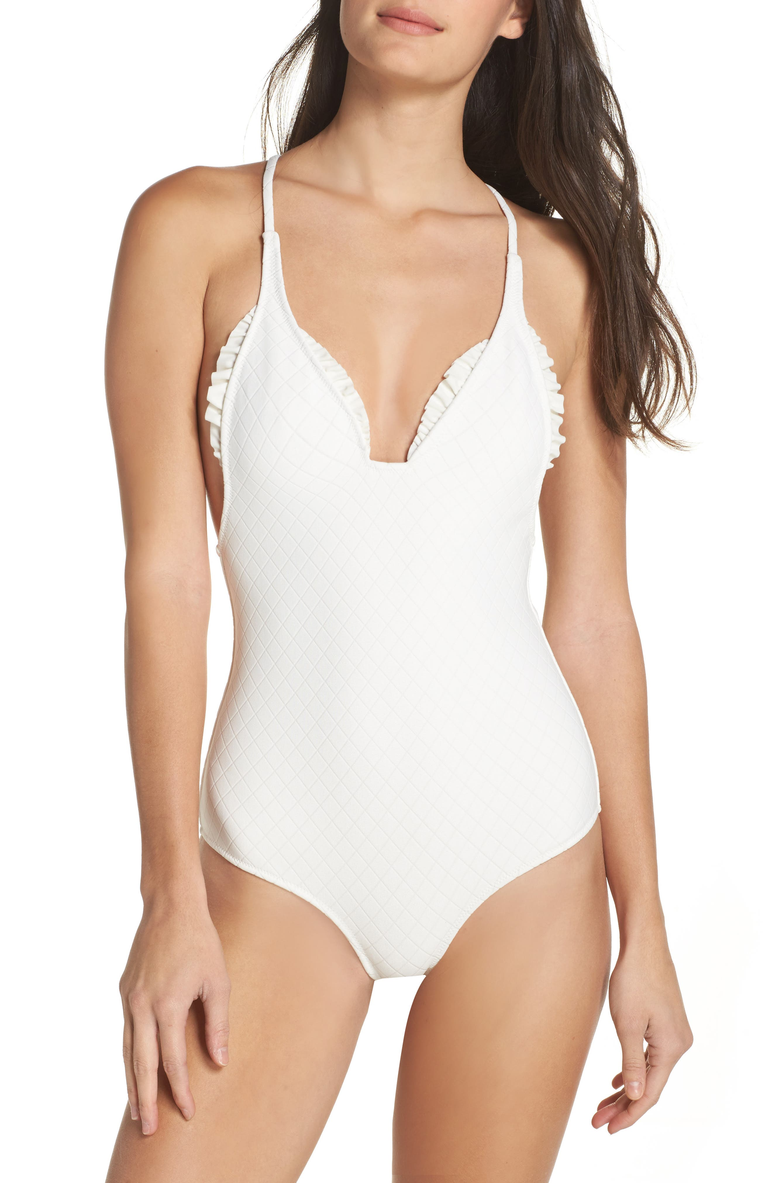 Made By Dawn Racerback One-Piece Swimsuit