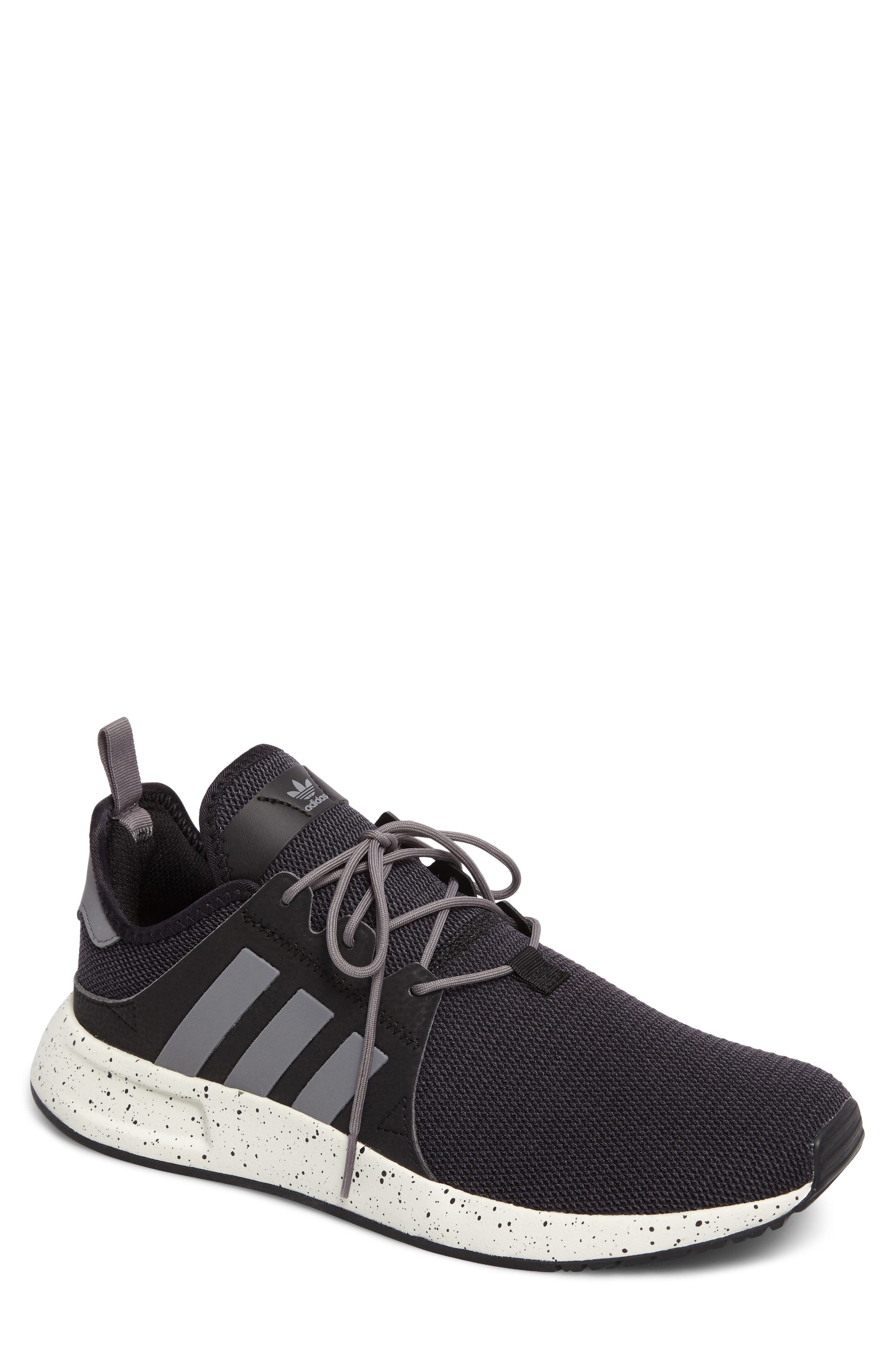 X_PLR Sneaker,                         Main,                         color, Core Black/ Grey/ Core Black
