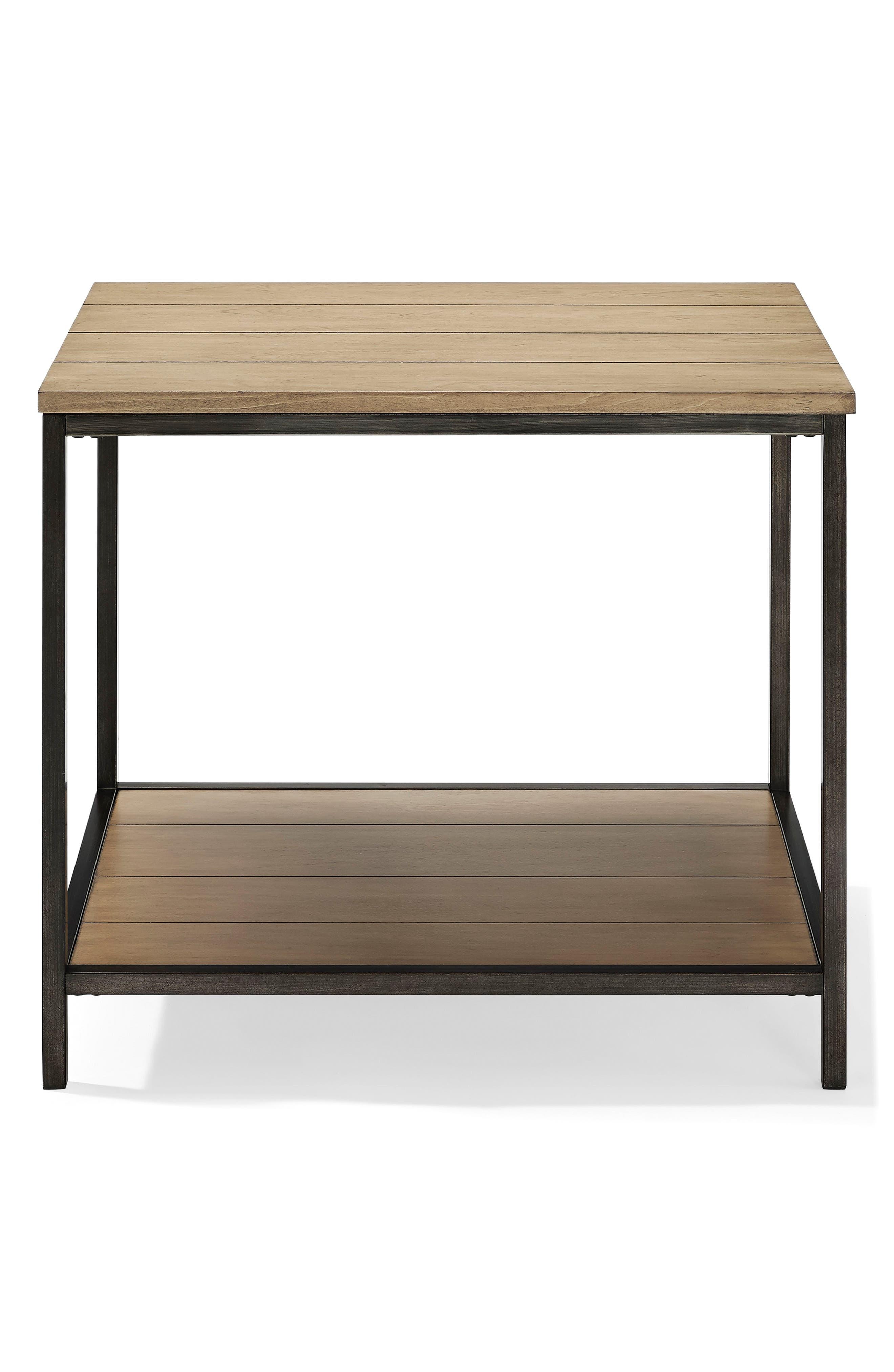 Brooke End Table,                         Main,                         color, Washed Oak