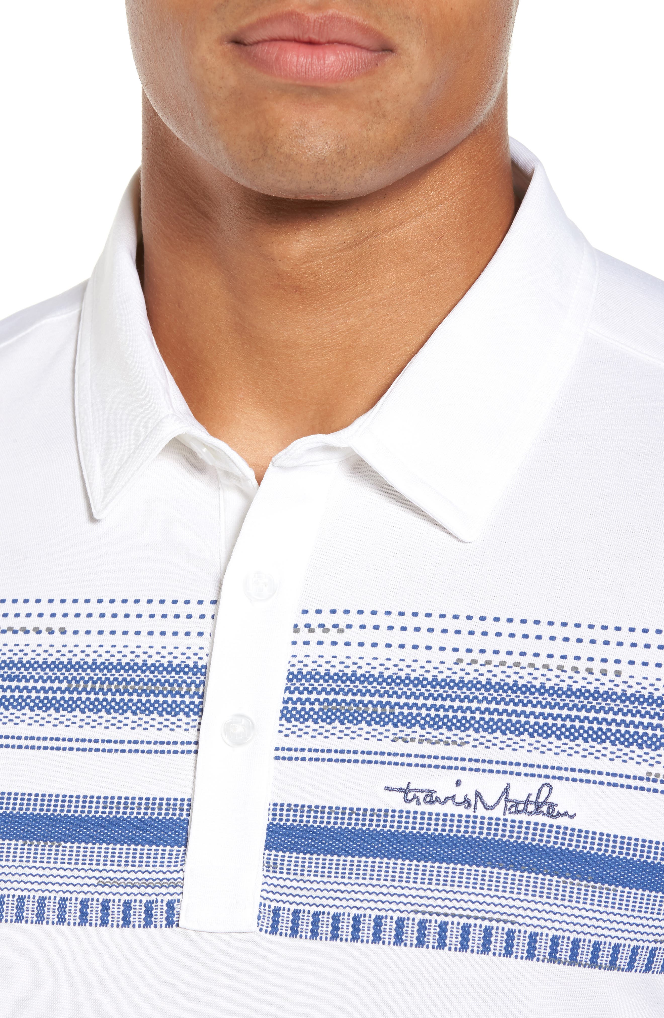 Alternate Image 4  - Travis Mathew Nino Jersey Polo