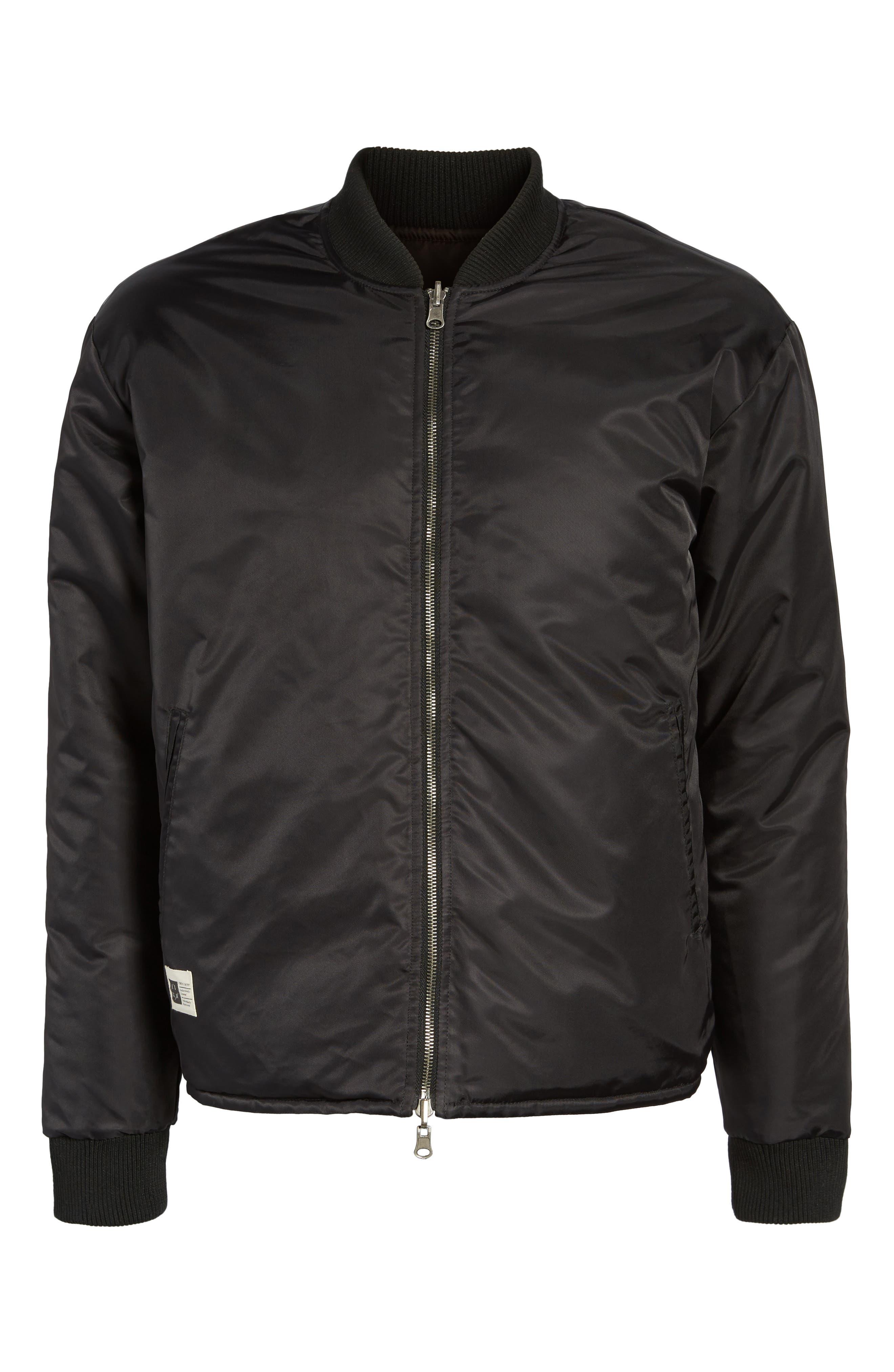 Alternate Image 5  - Lira Clothing Kevion Reversible Bomber Jacket