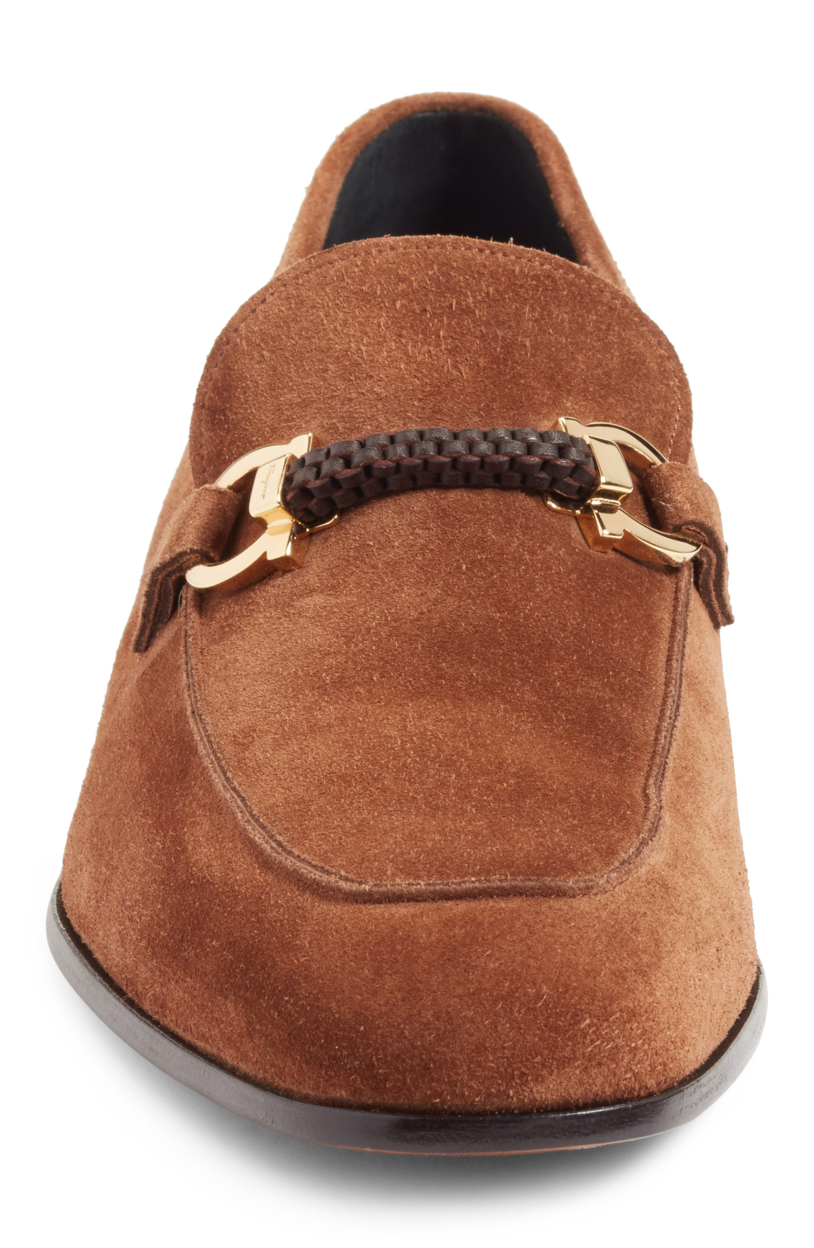 Cross Bit Loafer,                             Alternate thumbnail 5, color,                             Castoro