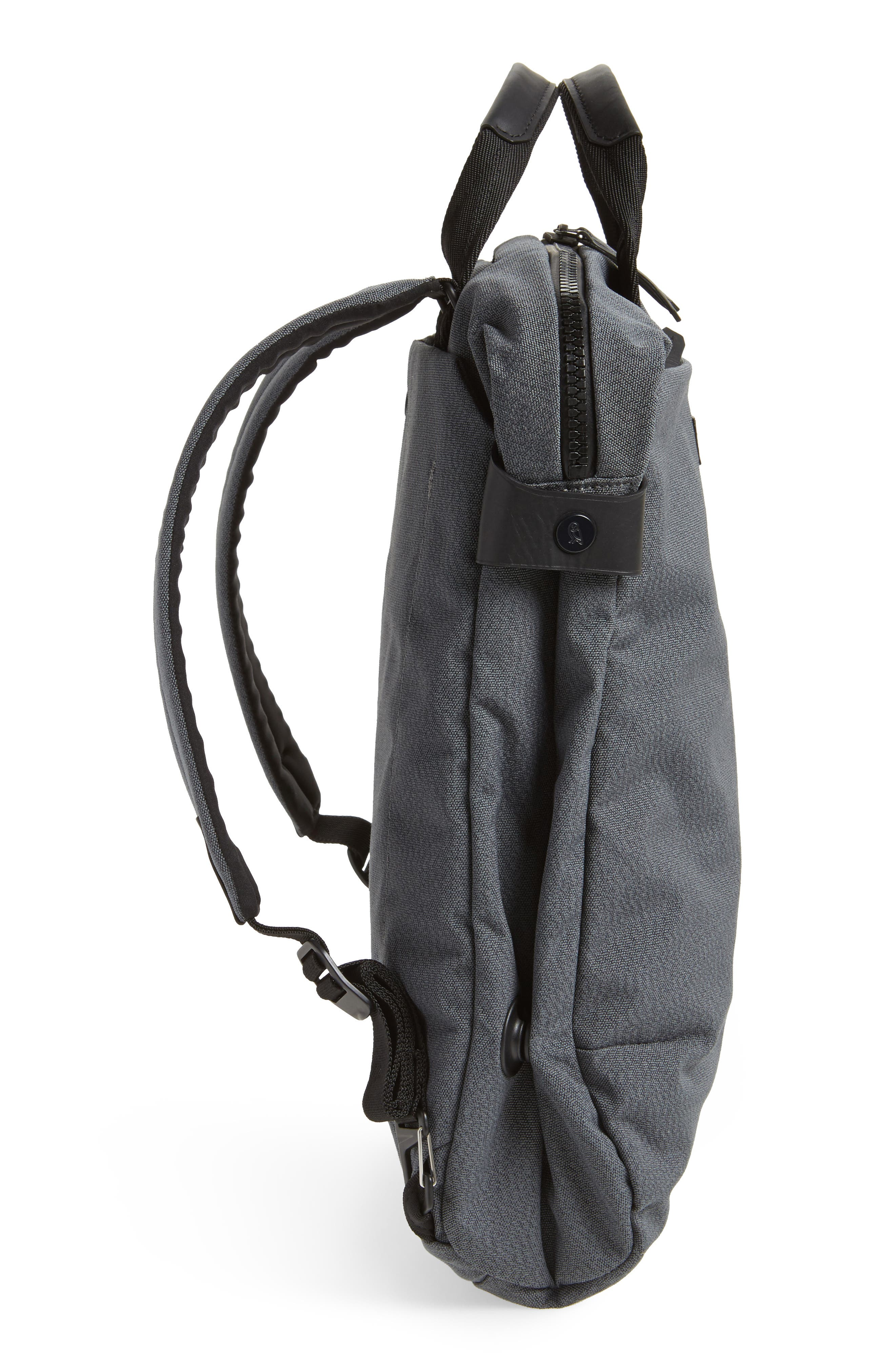 Duo Convertible Backpack,                             Alternate thumbnail 5, color,                             Mid Grey