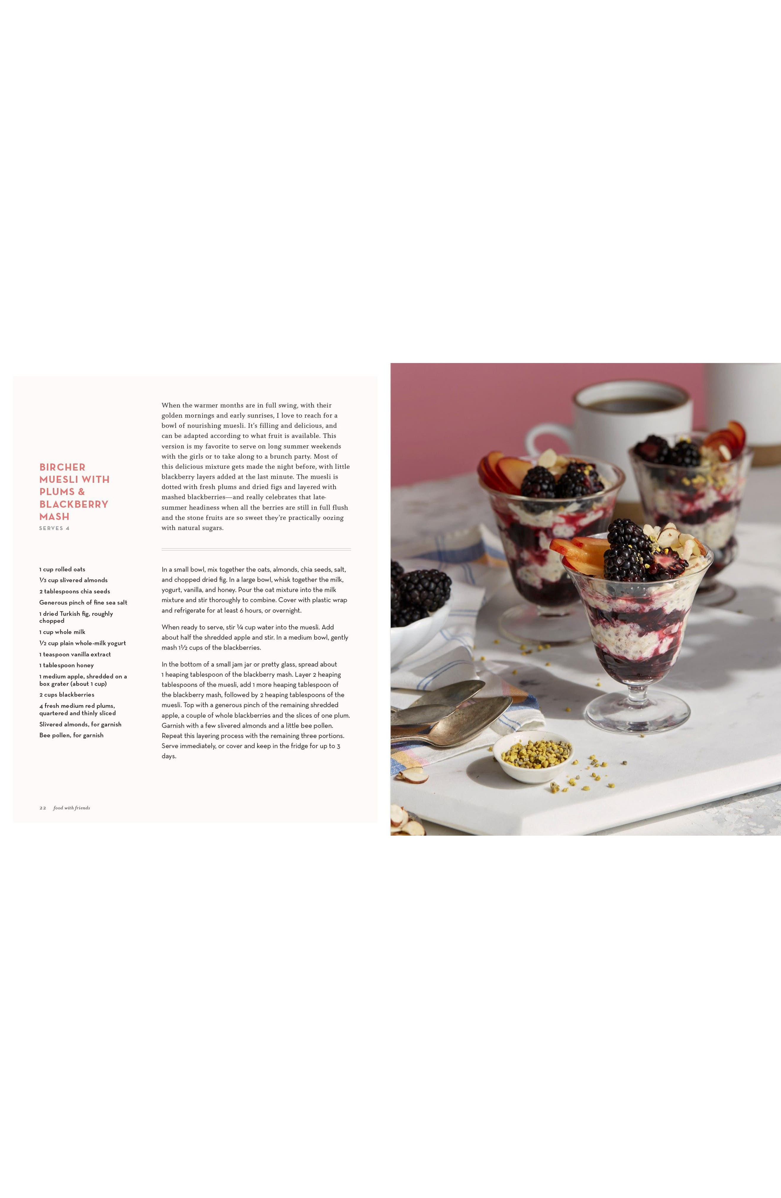 Food with Friends: The Art of Simple Gatherings Book,                             Alternate thumbnail 3, color,                             Pink