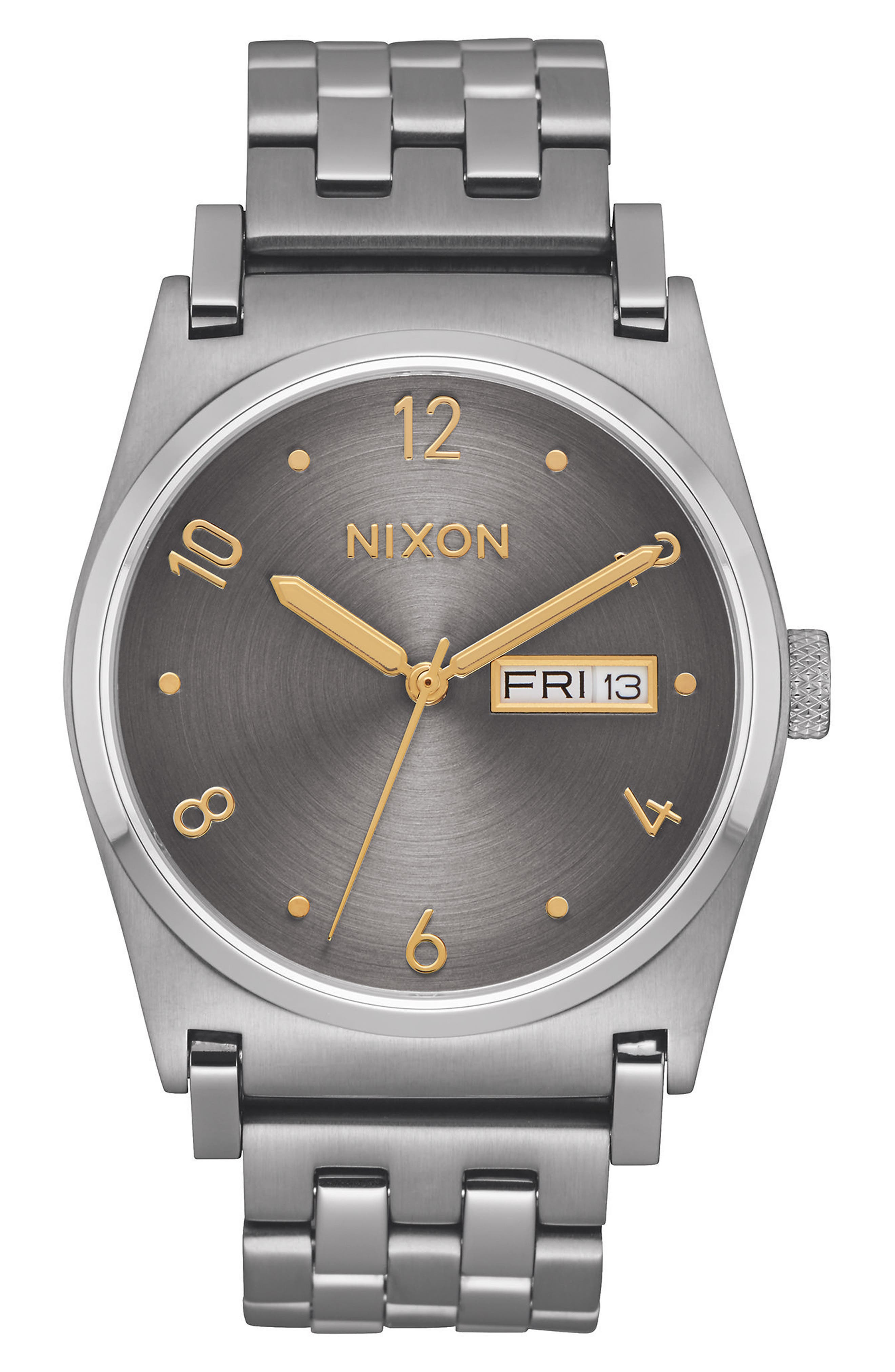 'Jane' Bracelet Watch, 35mm,                         Main,                         color, Silver