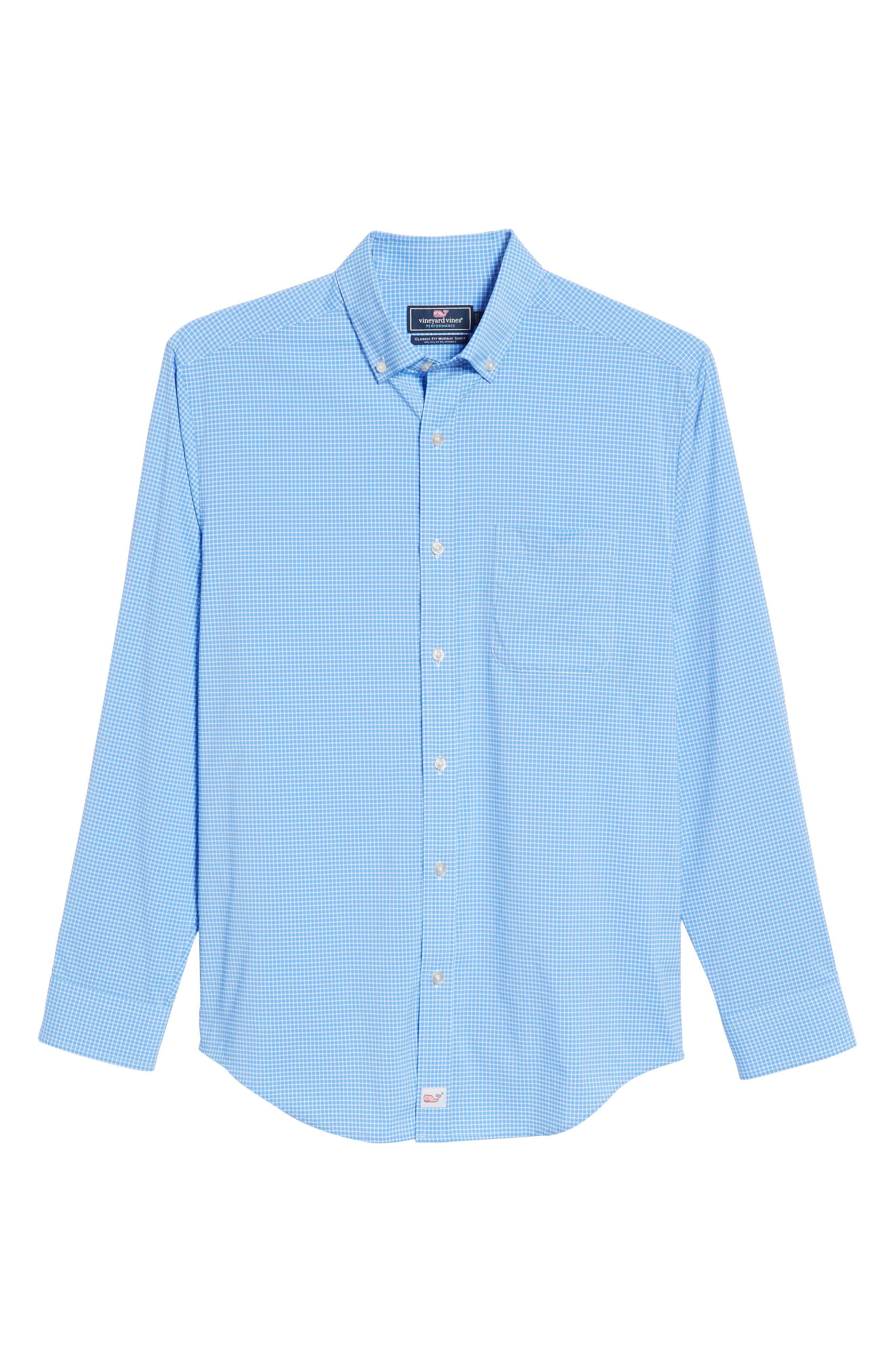 Alternate Image 6  - vineyard vines Anchor Row Classic Fit Check Sport Shirt