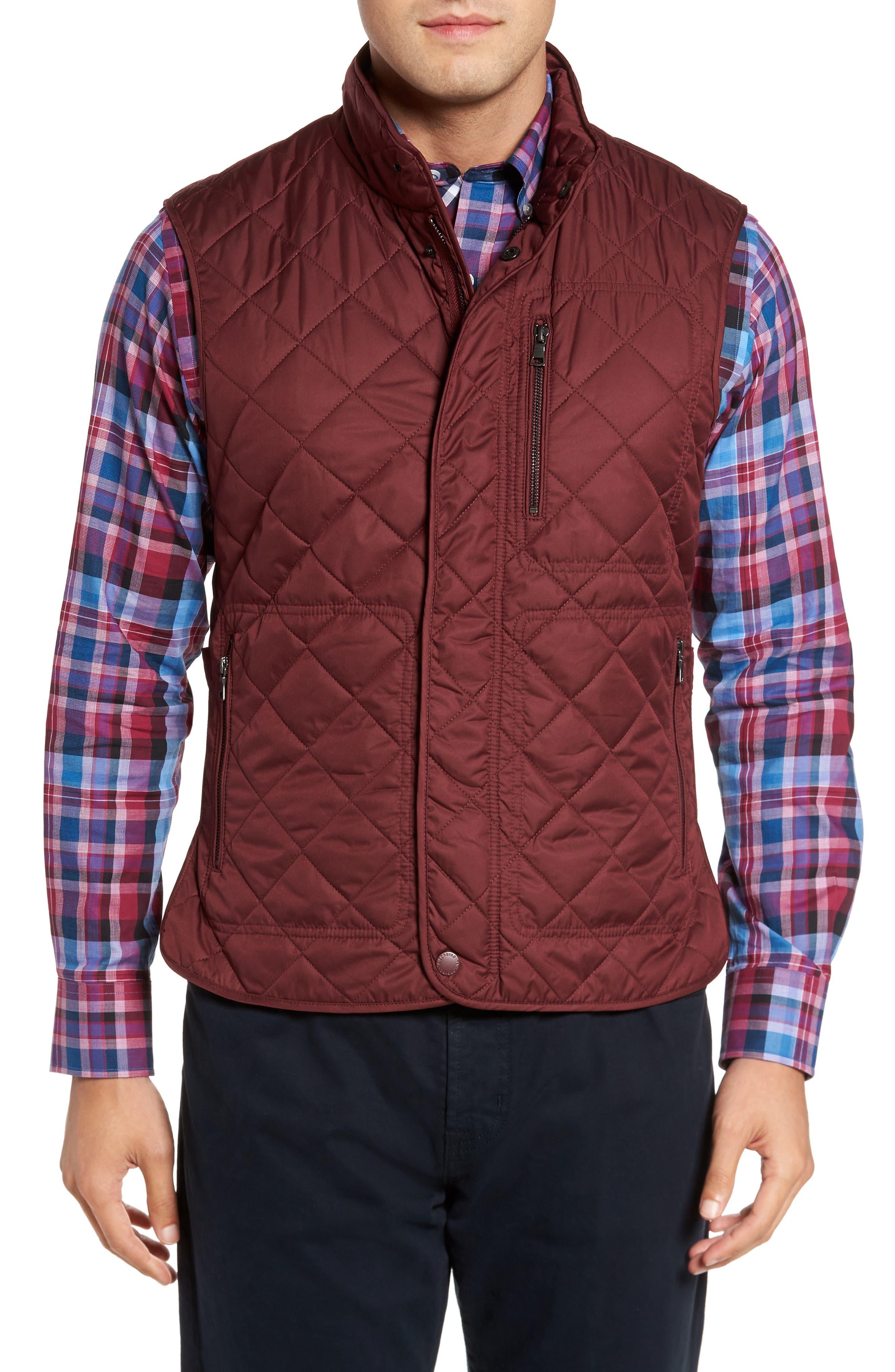 Main Image - TailorByrd Hessmer Quilted Vest
