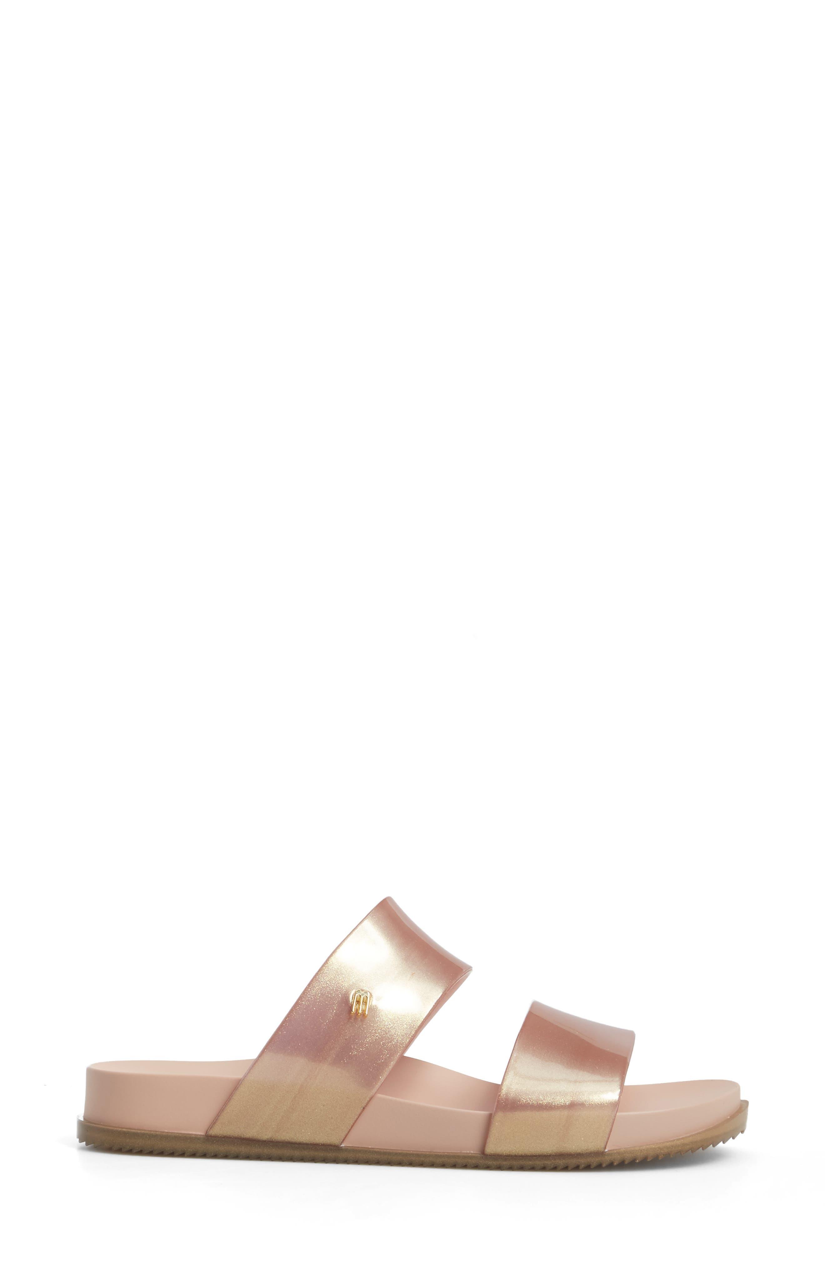 'Cosmic' Sandal,                             Alternate thumbnail 3, color,                             Metallic Pink