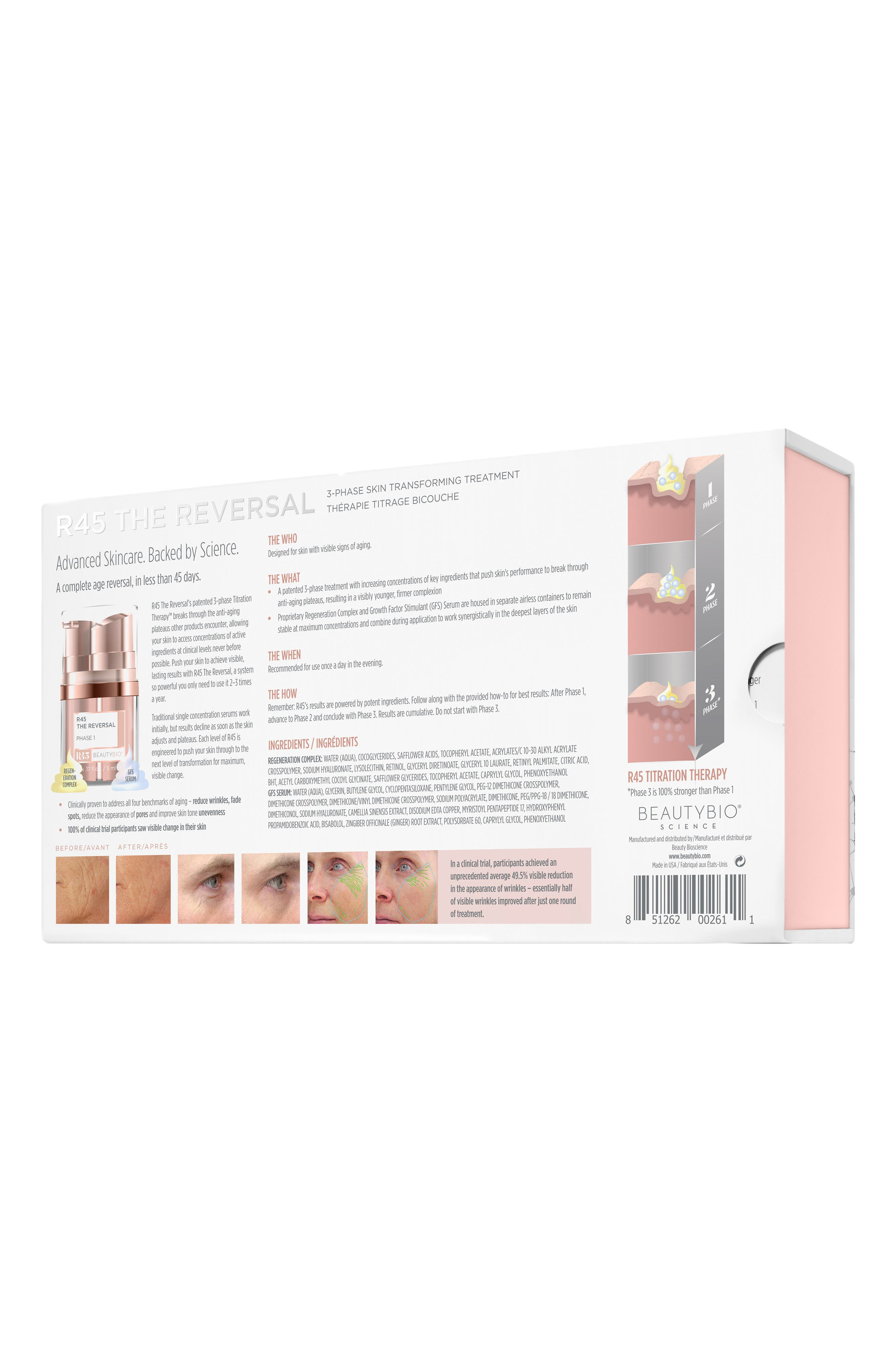 R45 The Reversal 3-Phase Skin Transforming Treatment,                             Alternate thumbnail 4, color,                             No Color