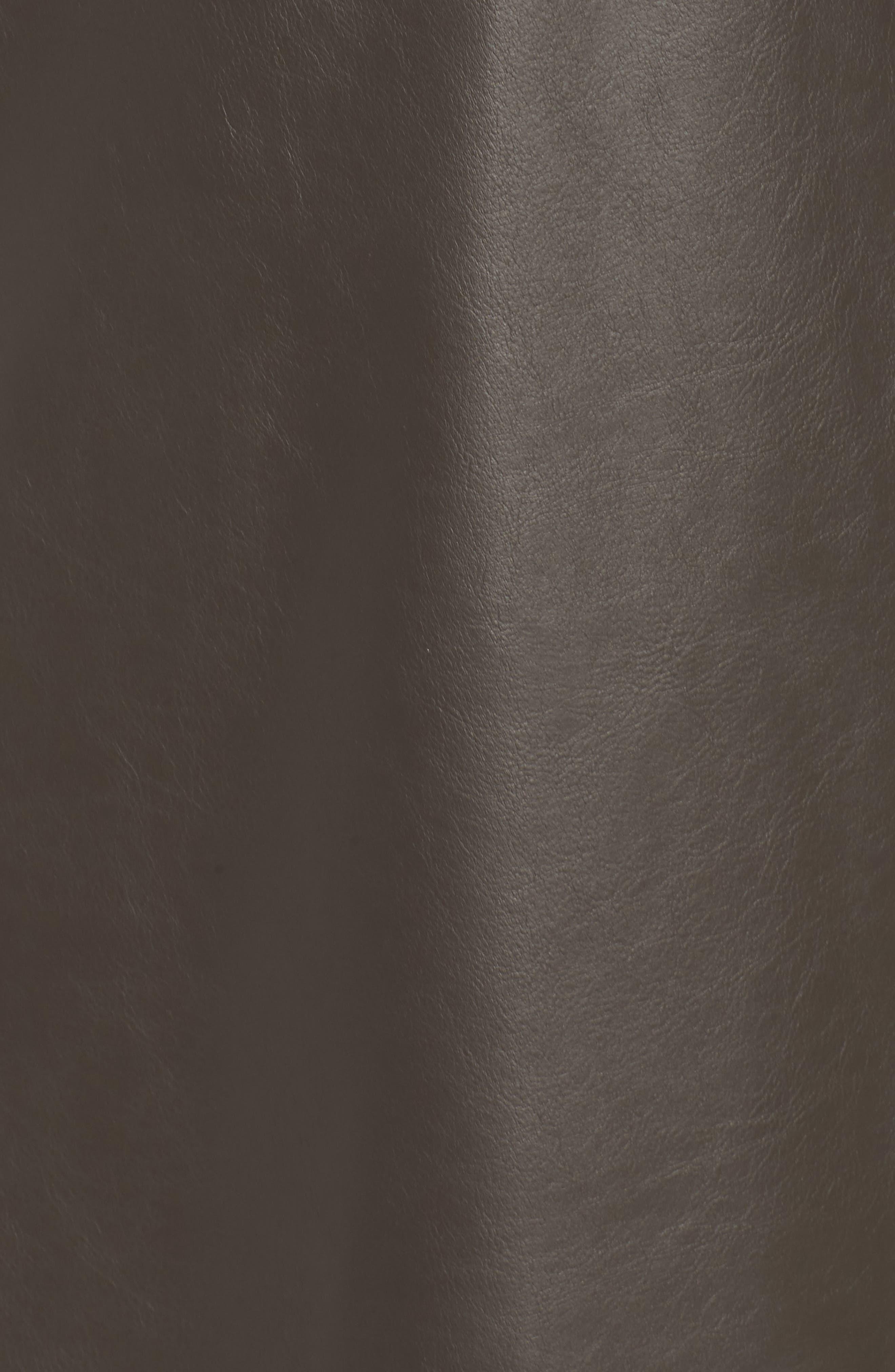Alternate Image 5  - ELVI Ruffle Shift Dress (Plus Size)