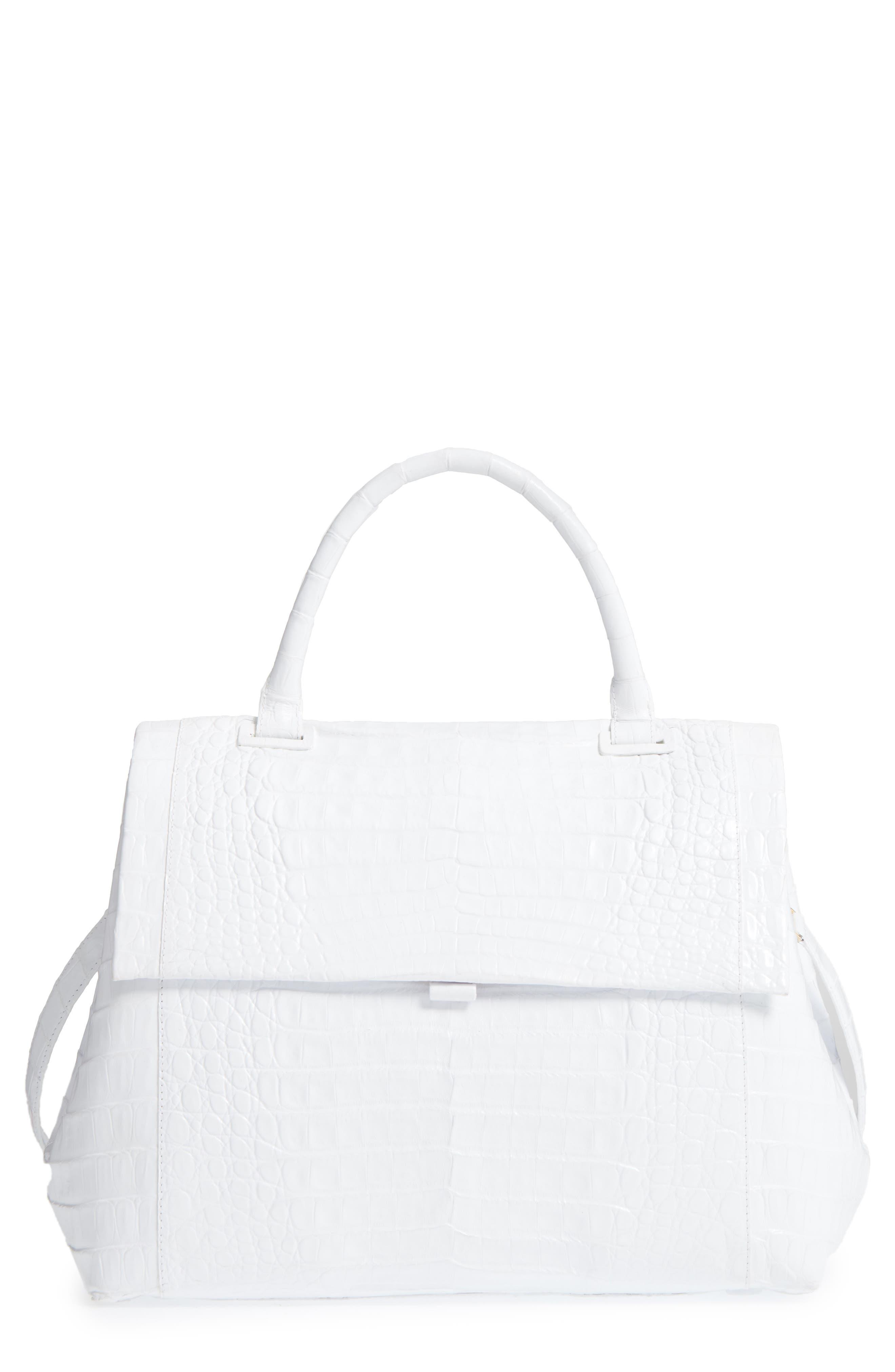 Alternate Image 1 Selected - Nancy Gonzalez Medium Sophie Genuine Crocodile Top Handle Bag