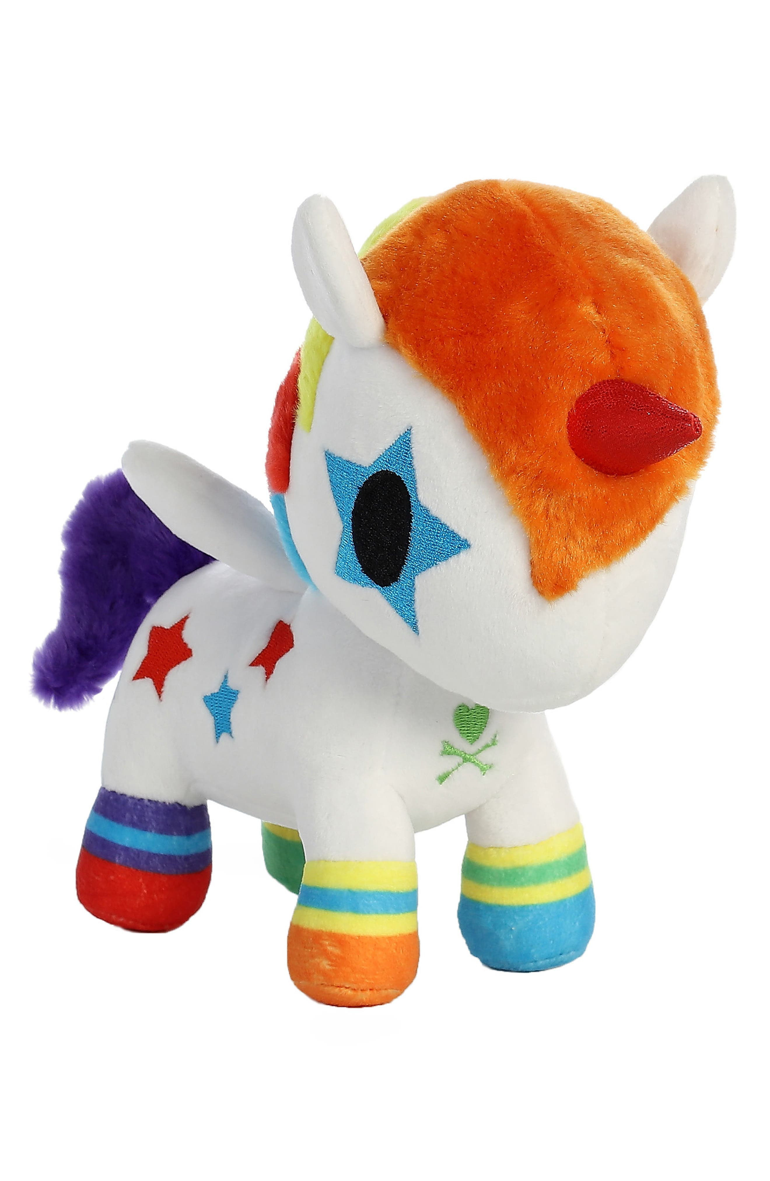 x tokidoki Bowie Unicorno Stuffed Animal,                         Main,                         color, Orange