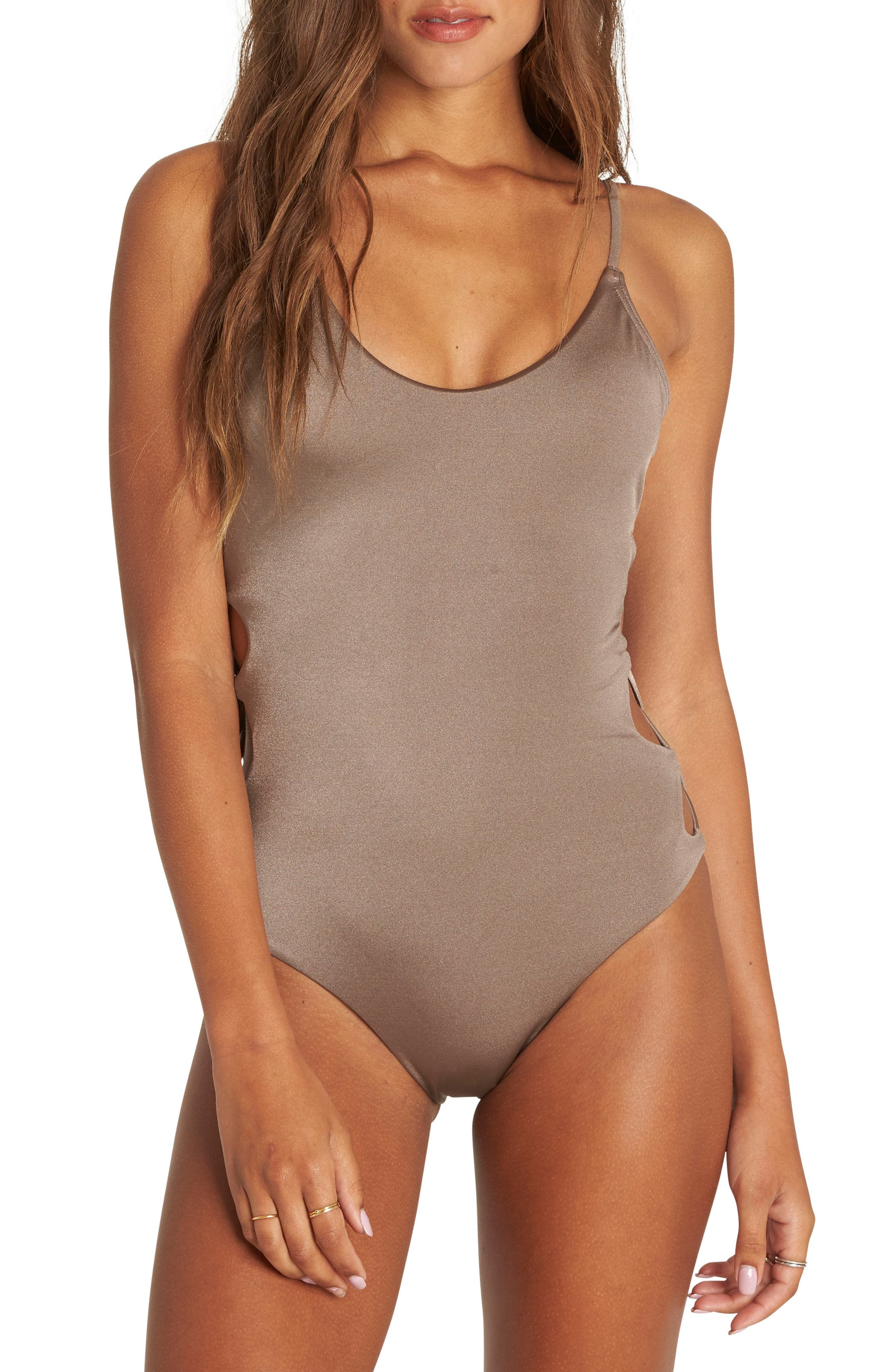 Alternate Image 1 Selected - Billabong Sol Searcher One-Piece Swimsuit