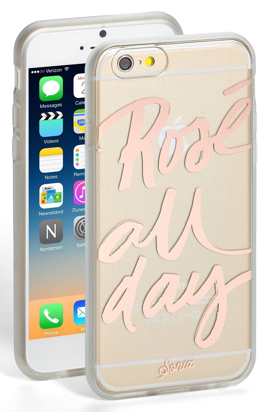 Alternate Image 1 Selected - Sonix 'Rosé All Day' iPhone 6 & 6s Case