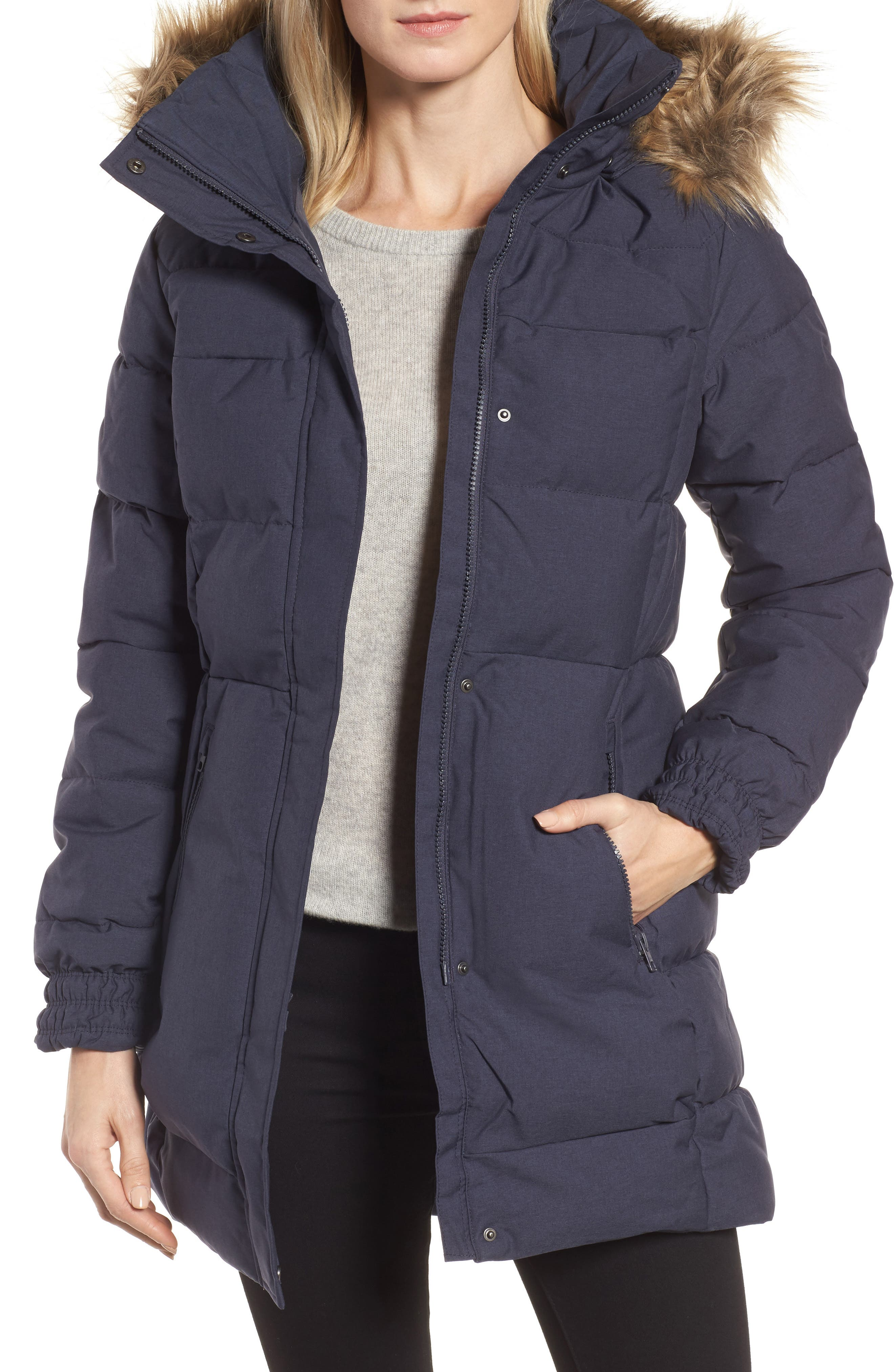 Alternate Image 1 Selected - Helly Hansen Blume Waterproof Parka with Faux Fur Trim