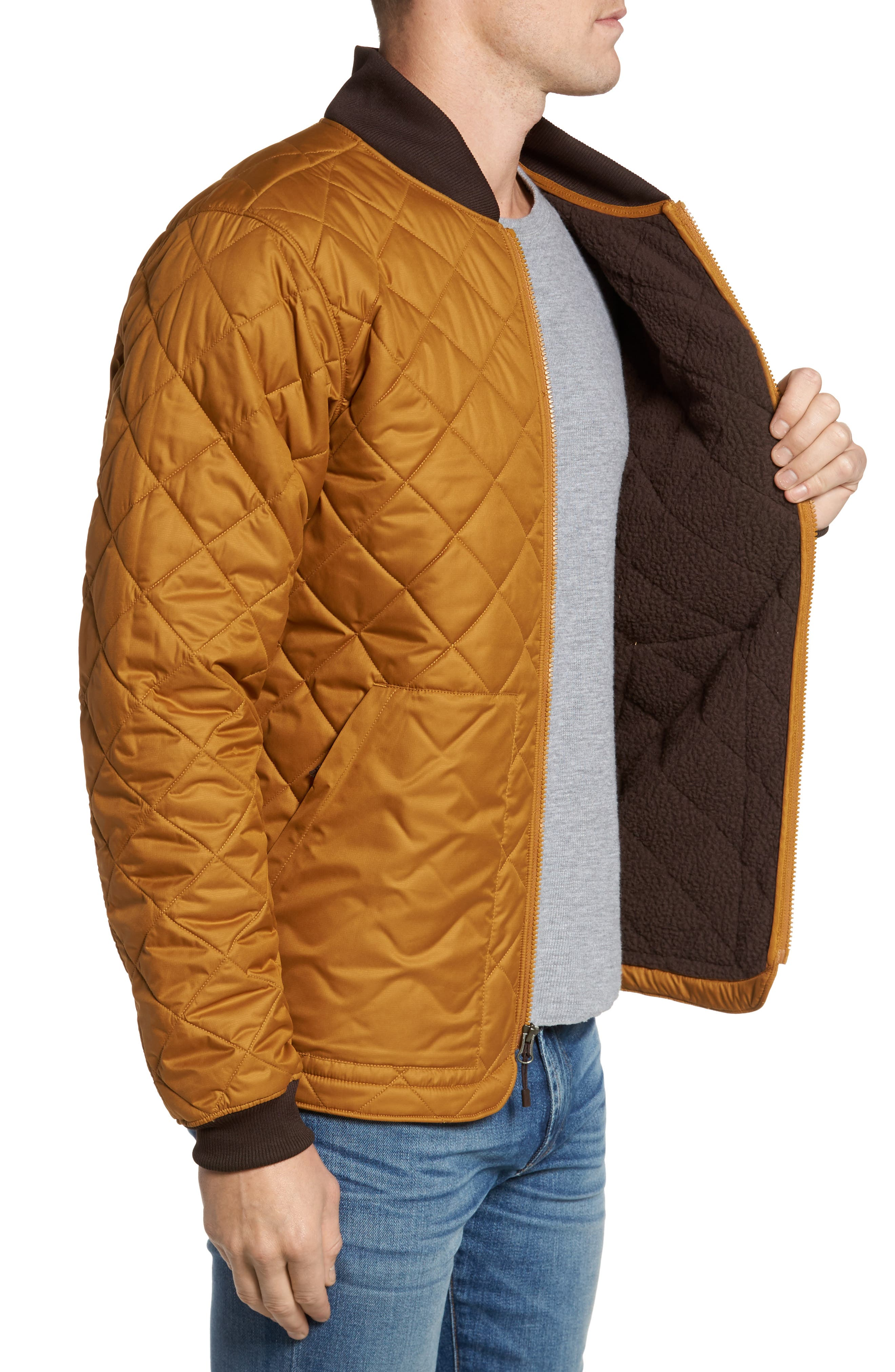 Cuchillo Insulated Jacket,                             Alternate thumbnail 3, color,                             Golden Brown