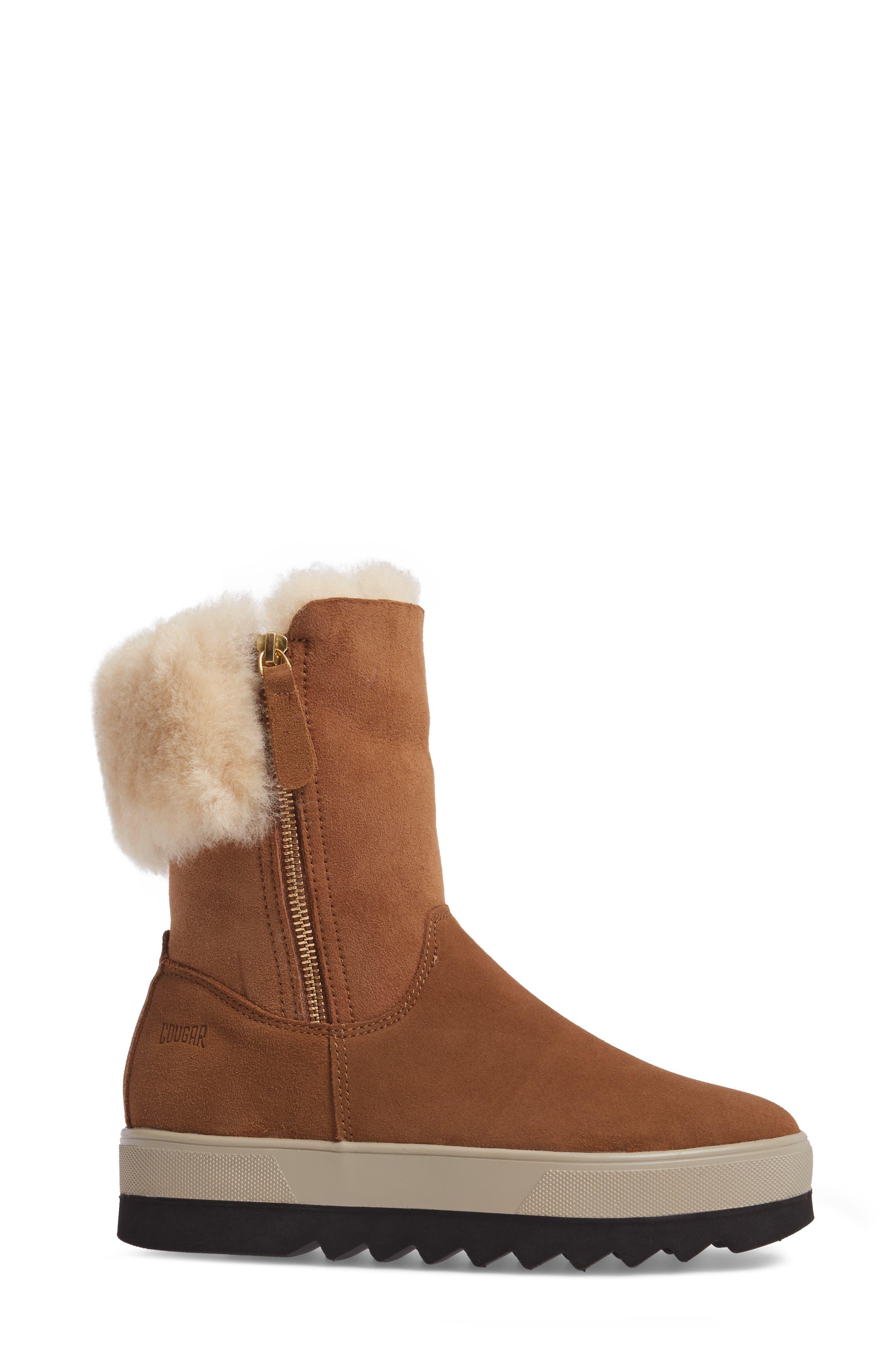 Alternate Image 3  - Cougar Vera Genuine Shearling Boot (Women)