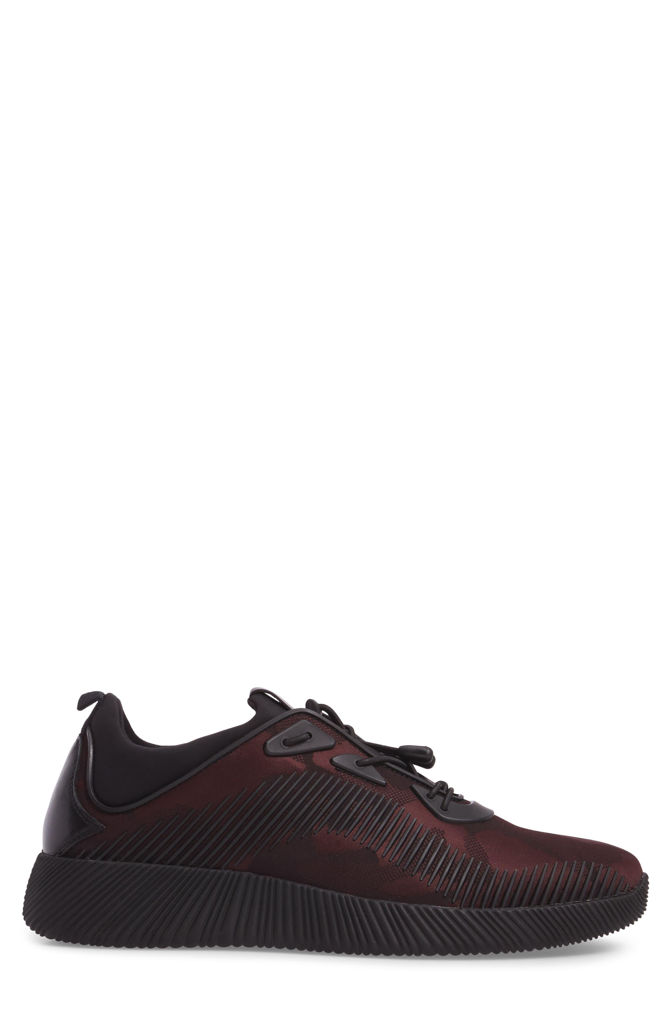 Sinch Sneaker,                             Alternate thumbnail 3, color,                             Bordeaux Fabric