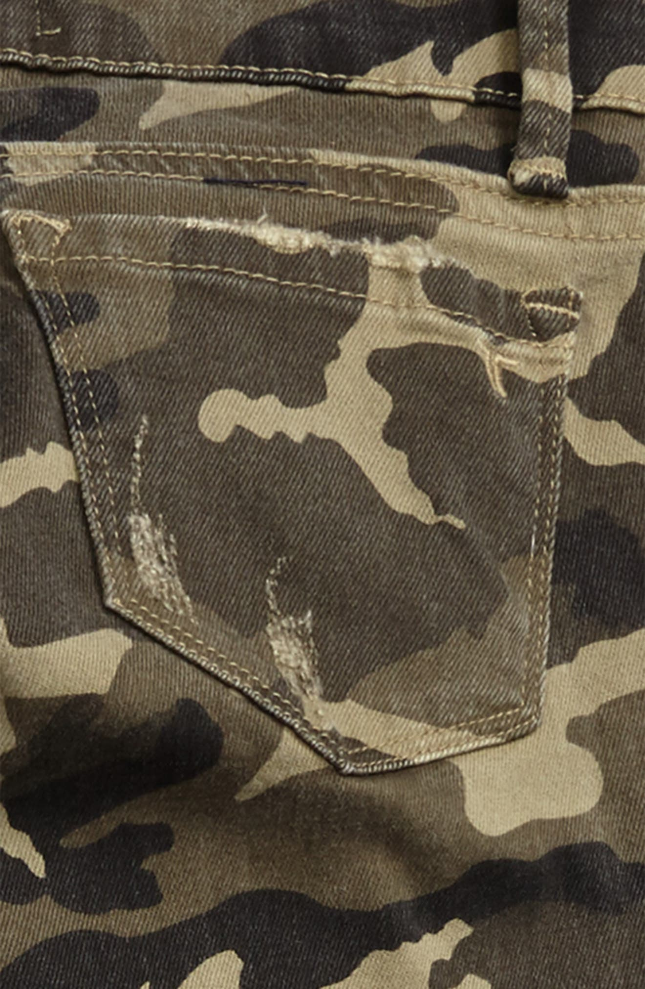 Alternate Image 3  - Tractr Camo Skinny Jeans (Big Girls)