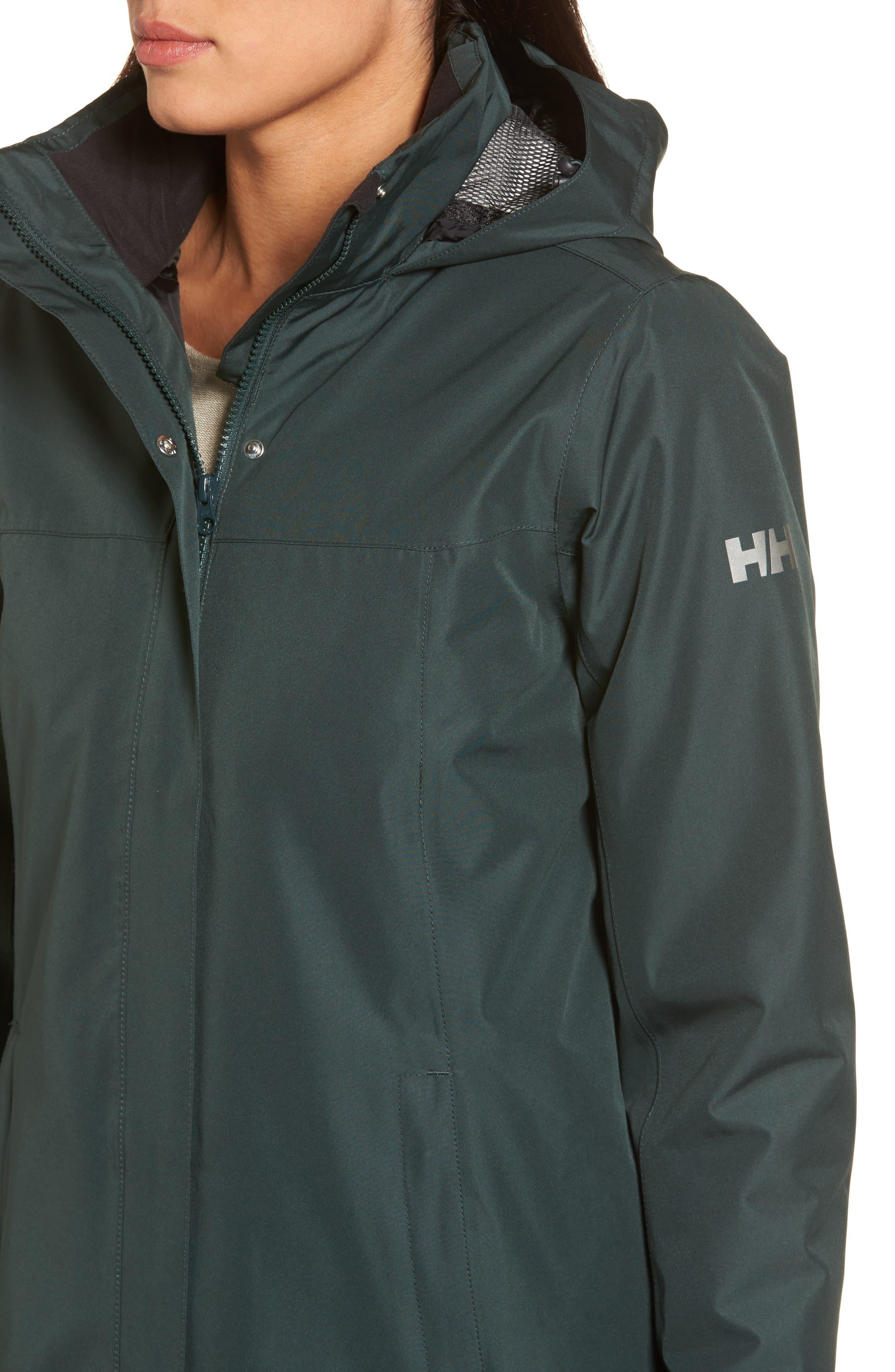 Alternate Image 4  - Helly Hansen Aden Hooded Insulated Rain Jacket
