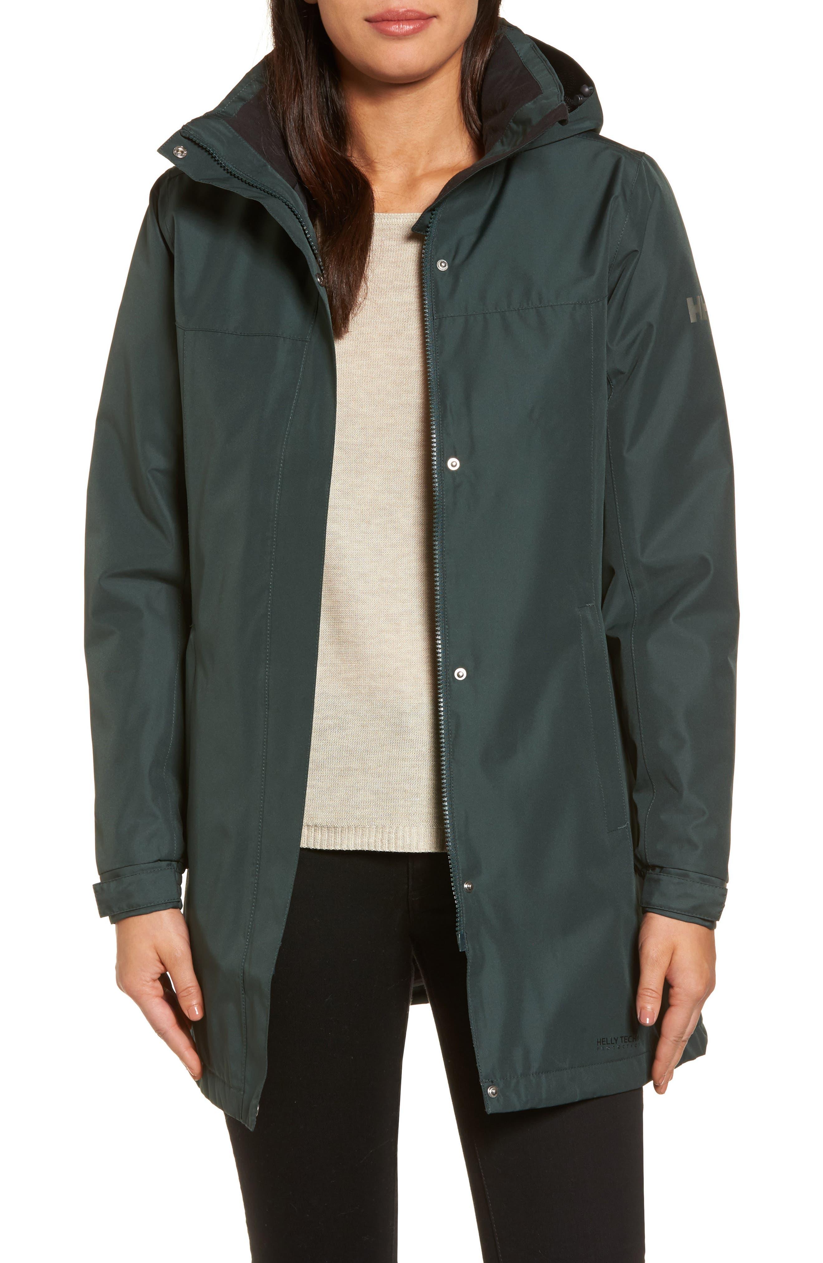 Alternate Image 1 Selected - Helly Hansen Aden Hooded Insulated Rain Jacket