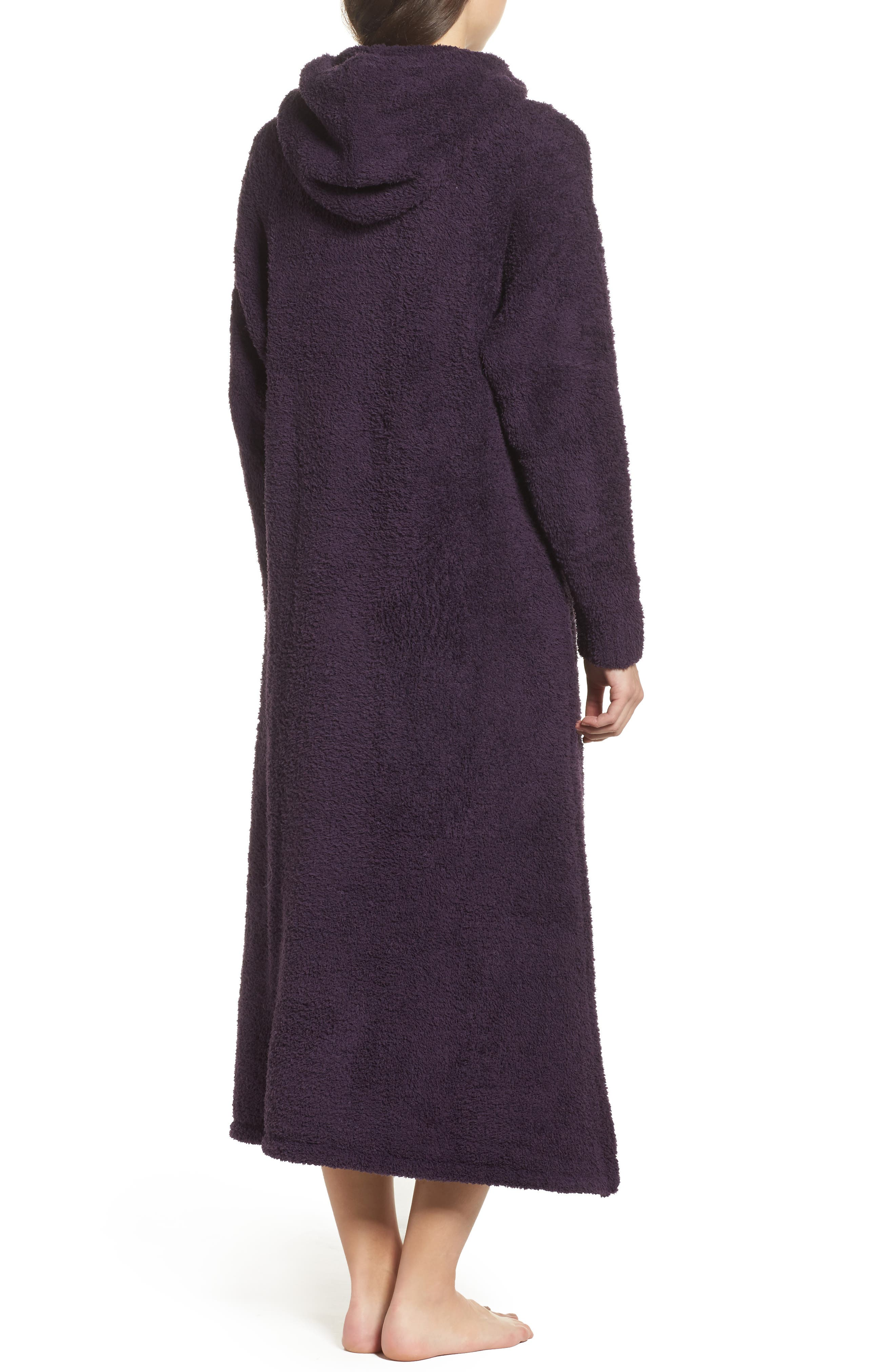 Alternate Image 2  - Barefoot Dreams® CozyChic® Hooded Zip Robe