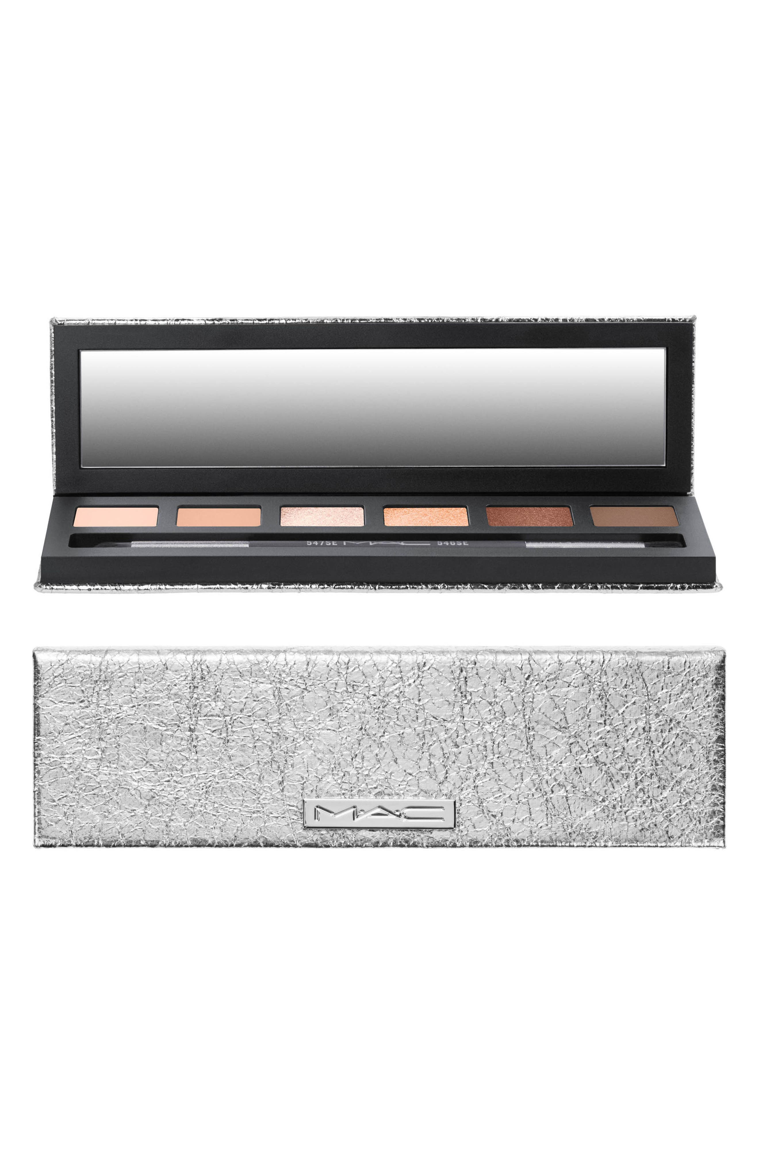 MAC Snow Ball Eye Compact,                             Alternate thumbnail 4, color,                             Rose Gold