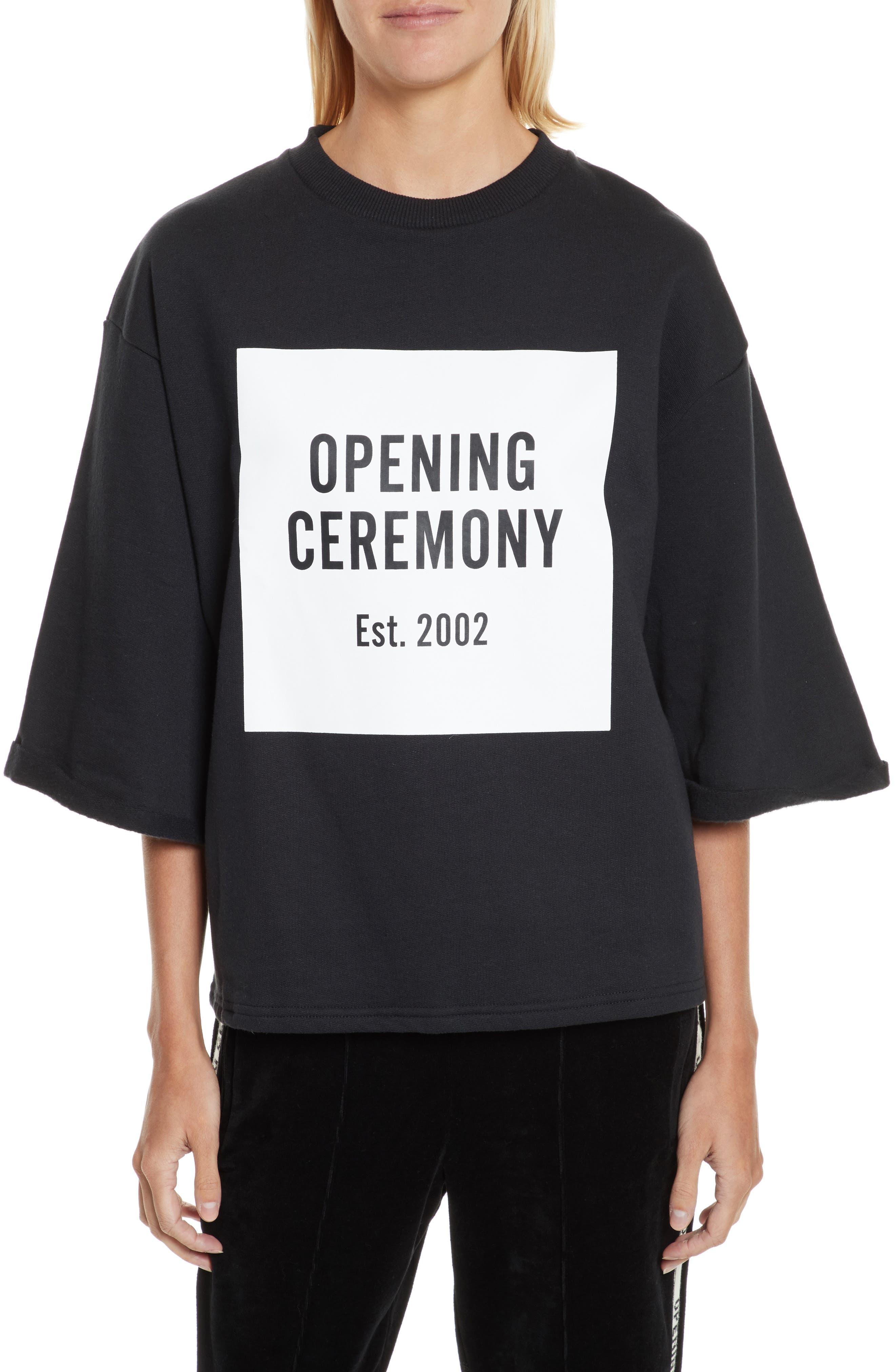 Alternate Image 1 Selected - Opening Ceremony Logo Sweatshirt Tee