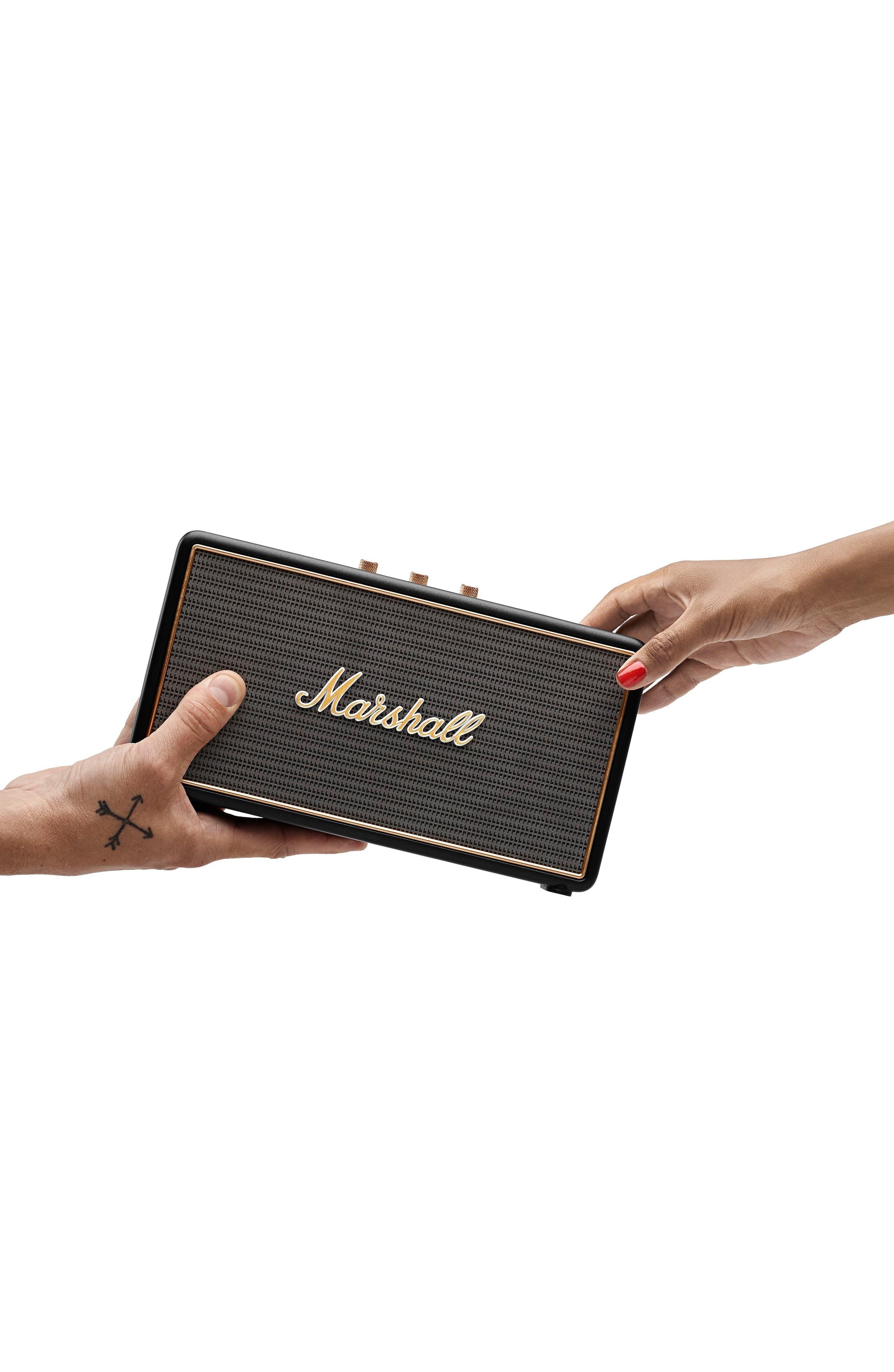 'Stockwell' Bluetooth<sup>®</sup> Speaker,                             Alternate thumbnail 6, color,                             Black