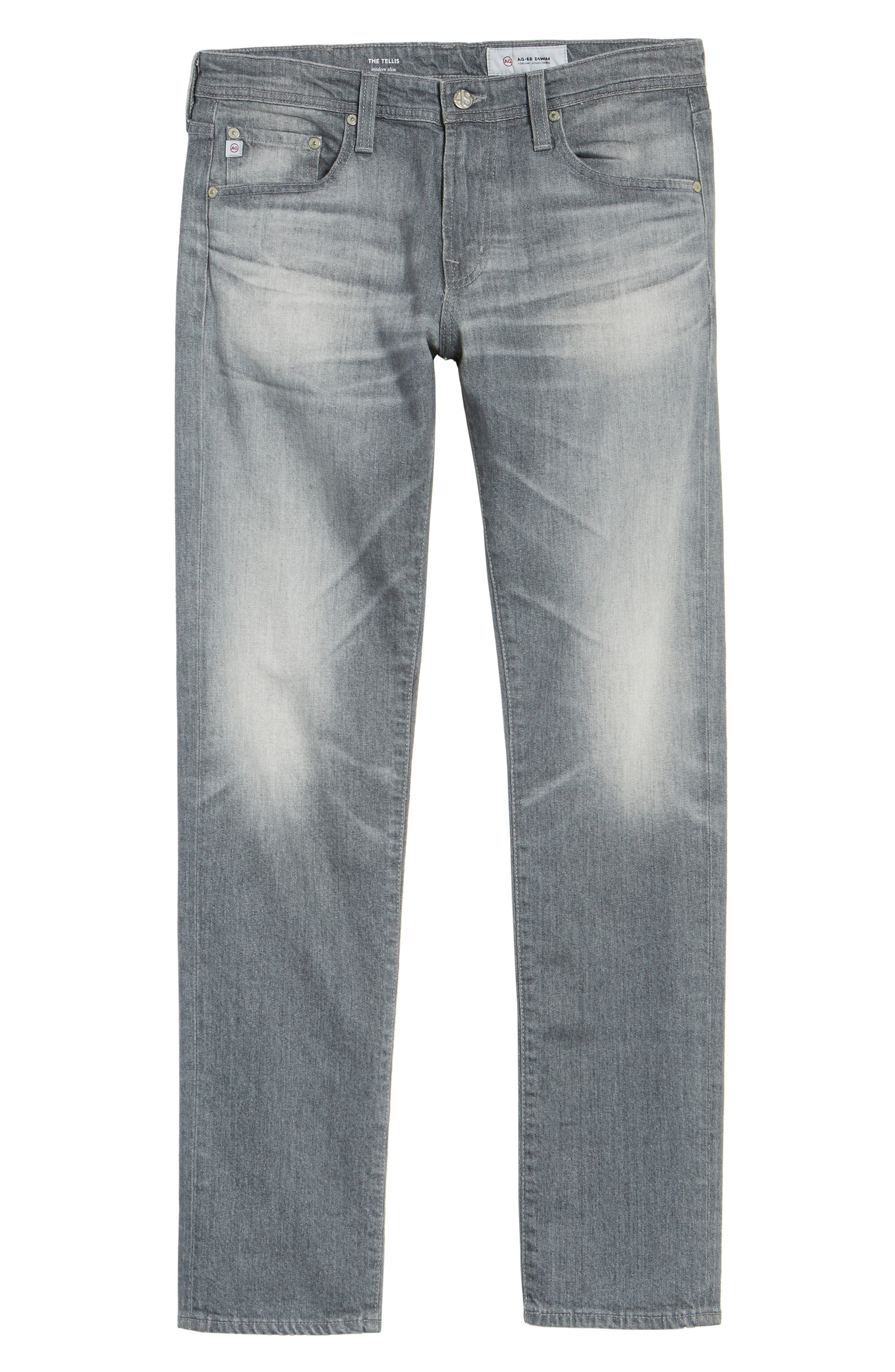 Tellis Modern Slim Fit Jeans,                             Alternate thumbnail 6, color,                             13 Years Fortress