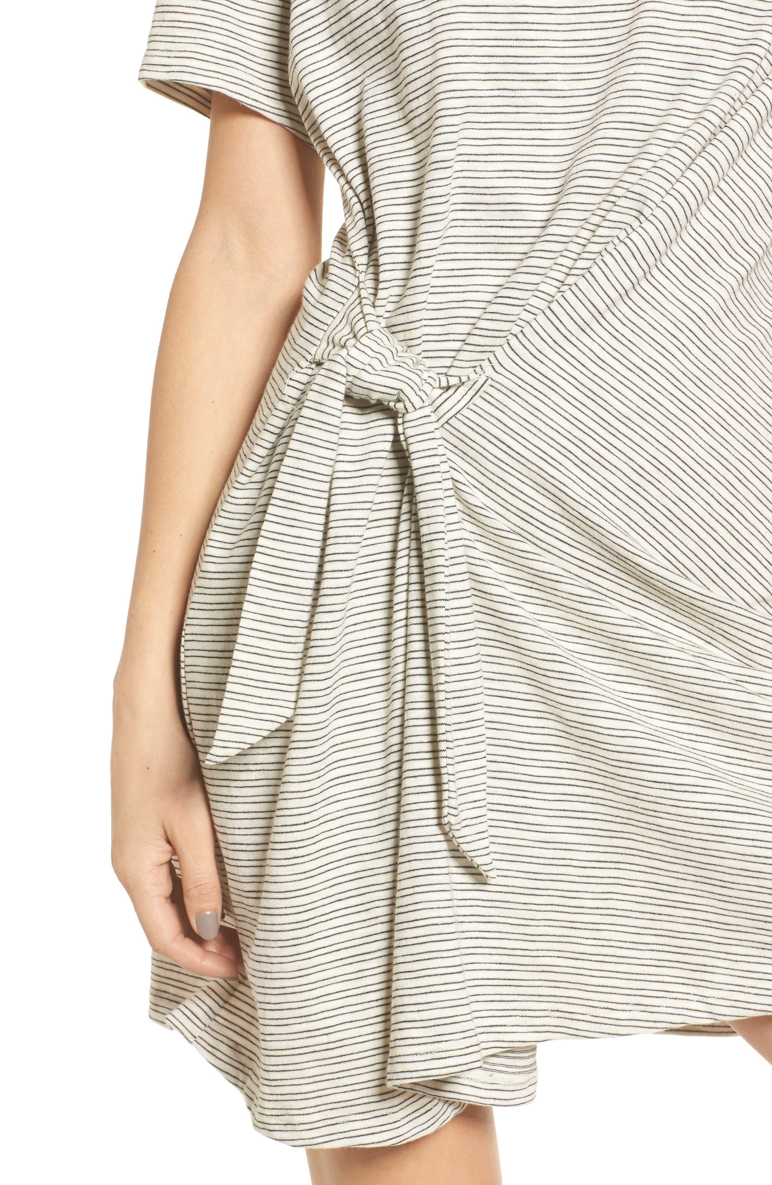 Alternate Image 4  - Side Knot Tee Dress
