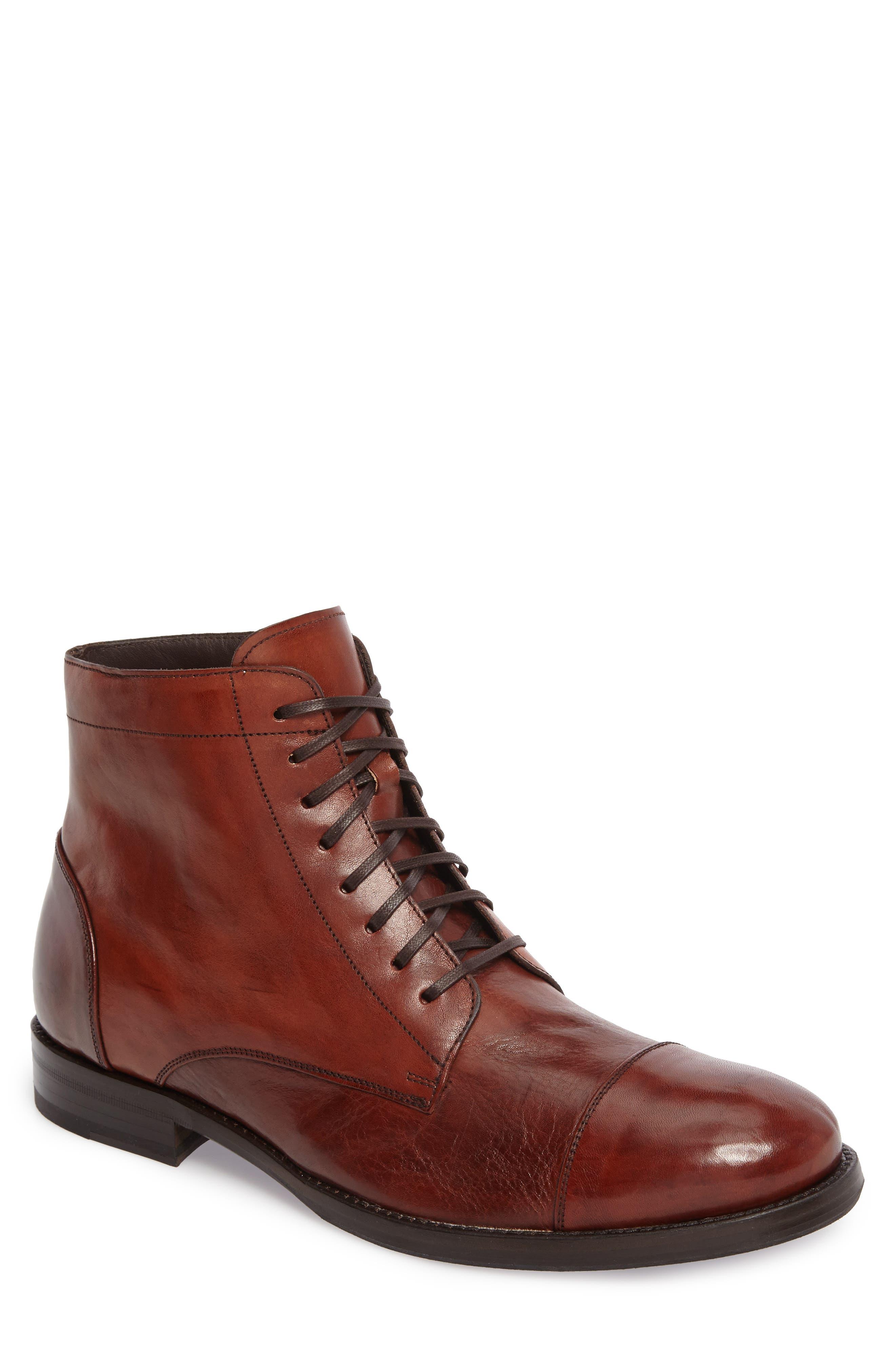Alternate Image 1 Selected - Maison Forte Murcie Cap Toe Boot (Men)