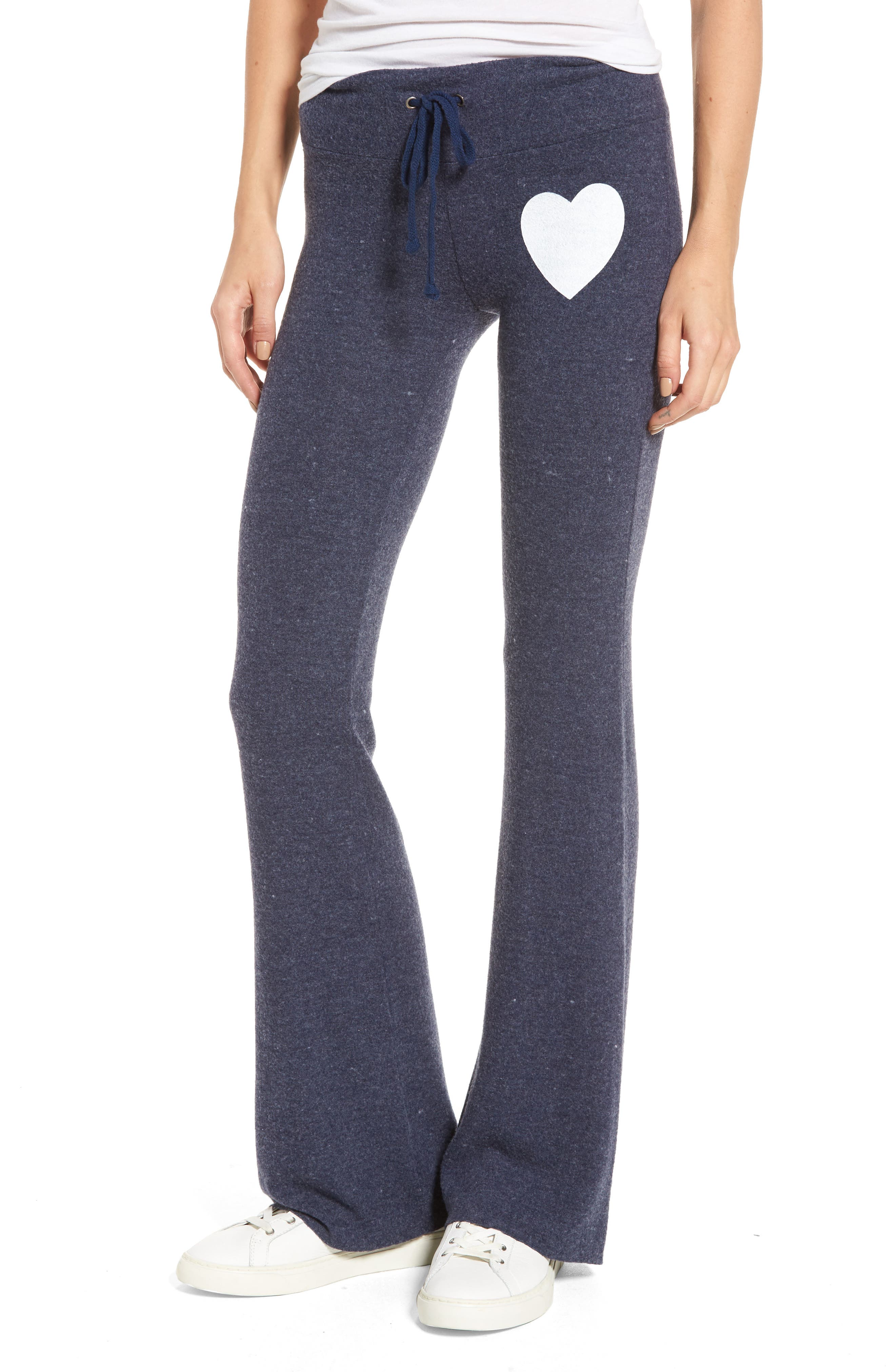 Eat Well Track Pants,                         Main,                         color, Dark Blue