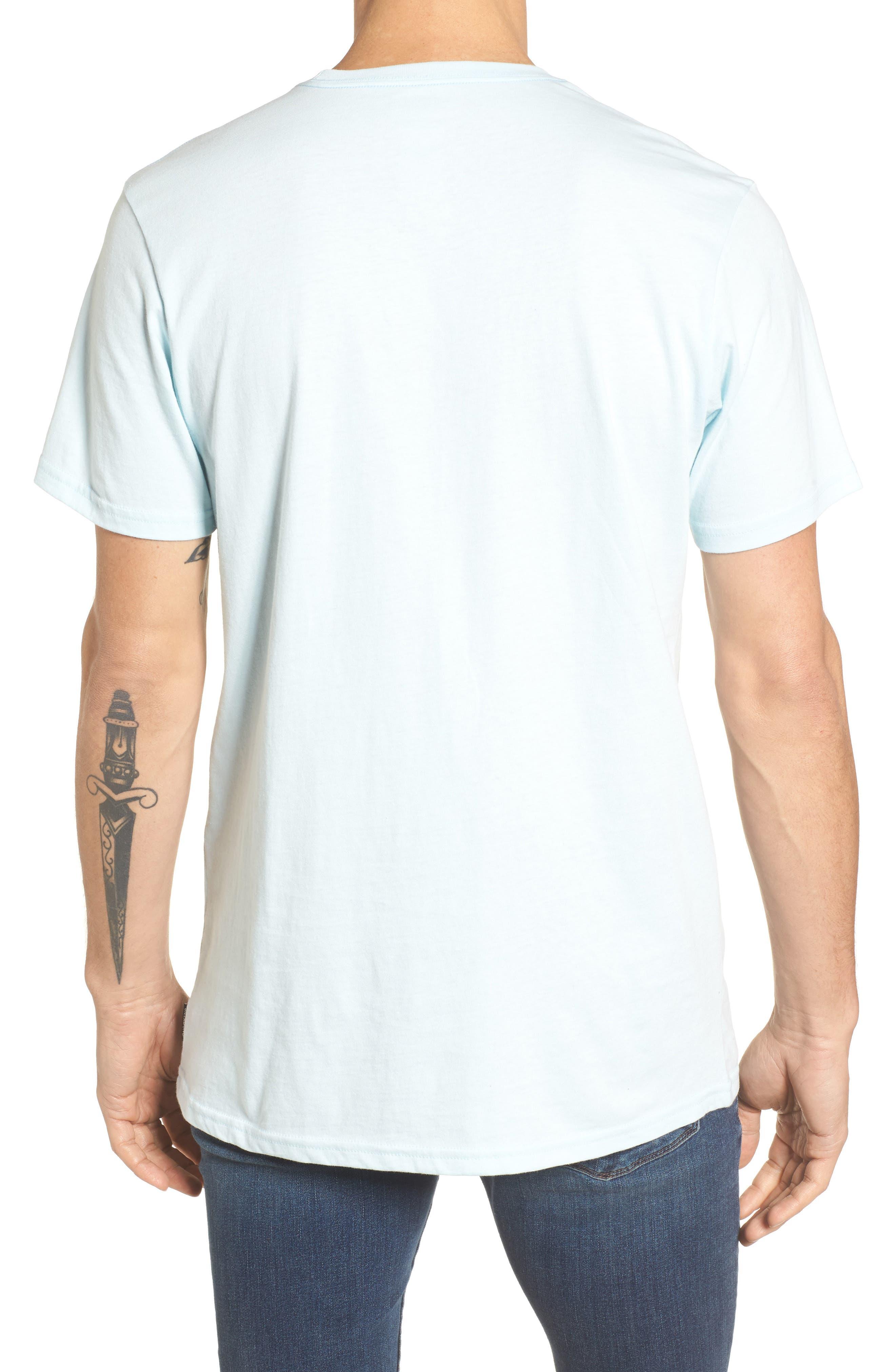 Unity Block Graphic T-Shirt,                             Alternate thumbnail 2, color,                             Coastal Blue