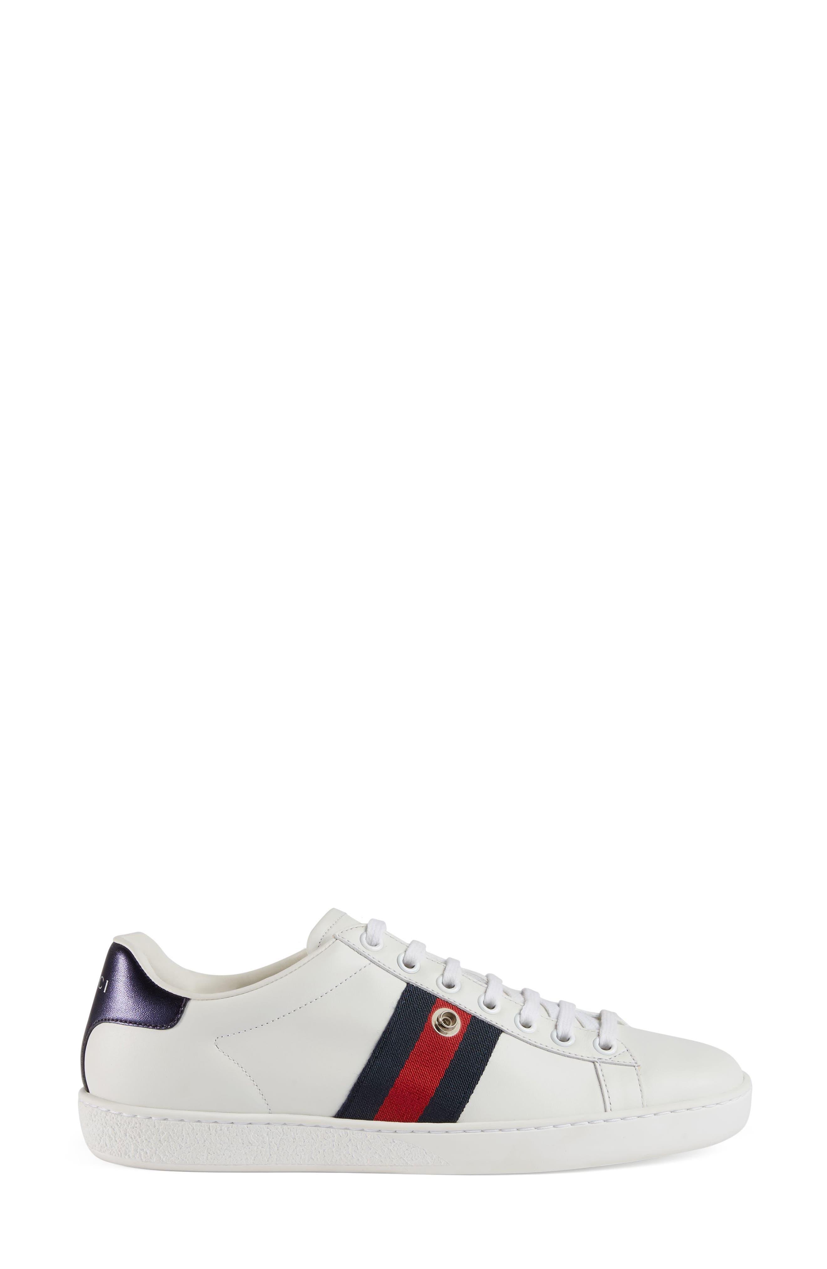 New Ace Loved Sneaker,                             Alternate thumbnail 2, color,                             White