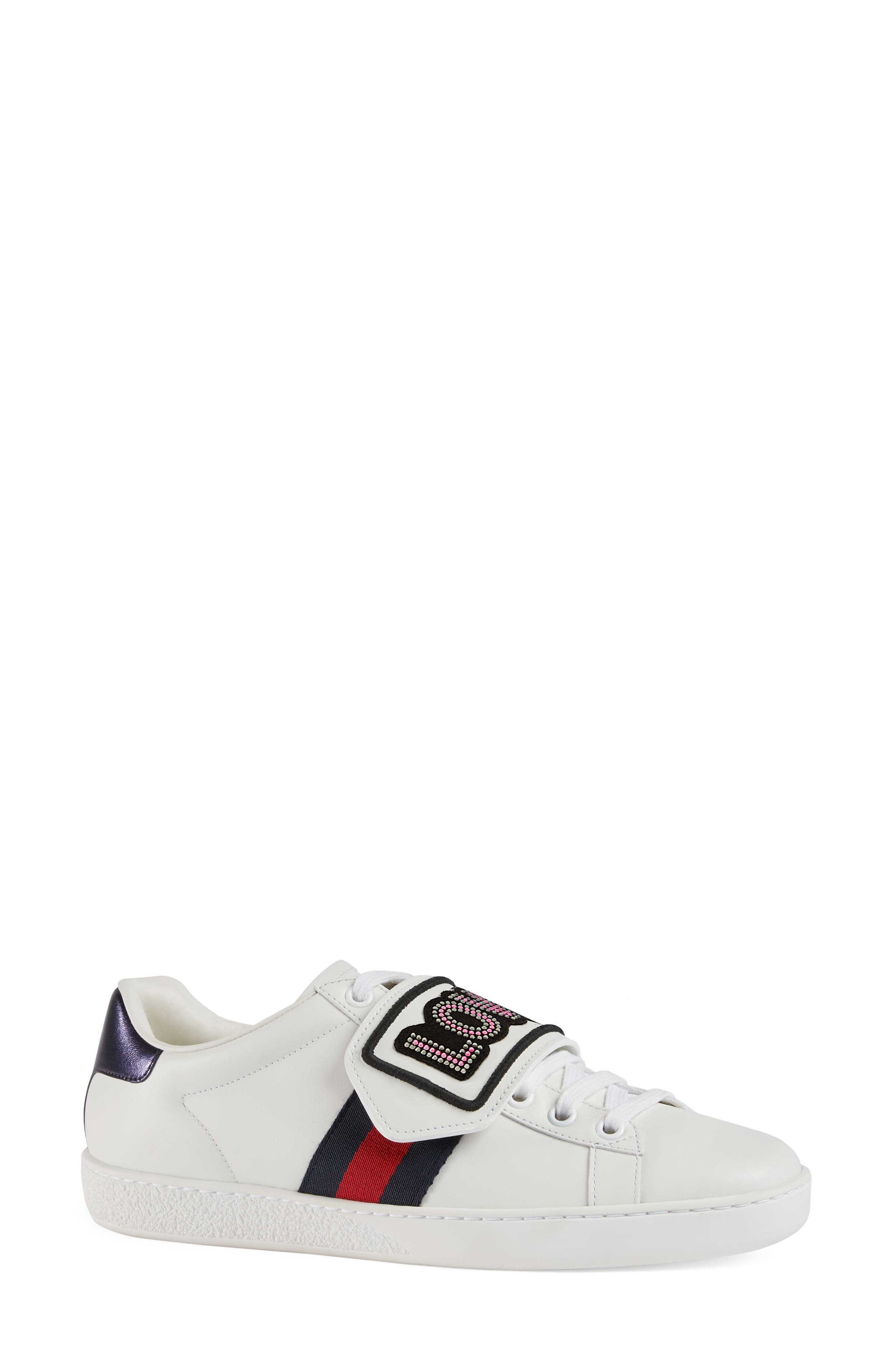 New Ace Loved Sneaker,                             Main thumbnail 1, color,                             White