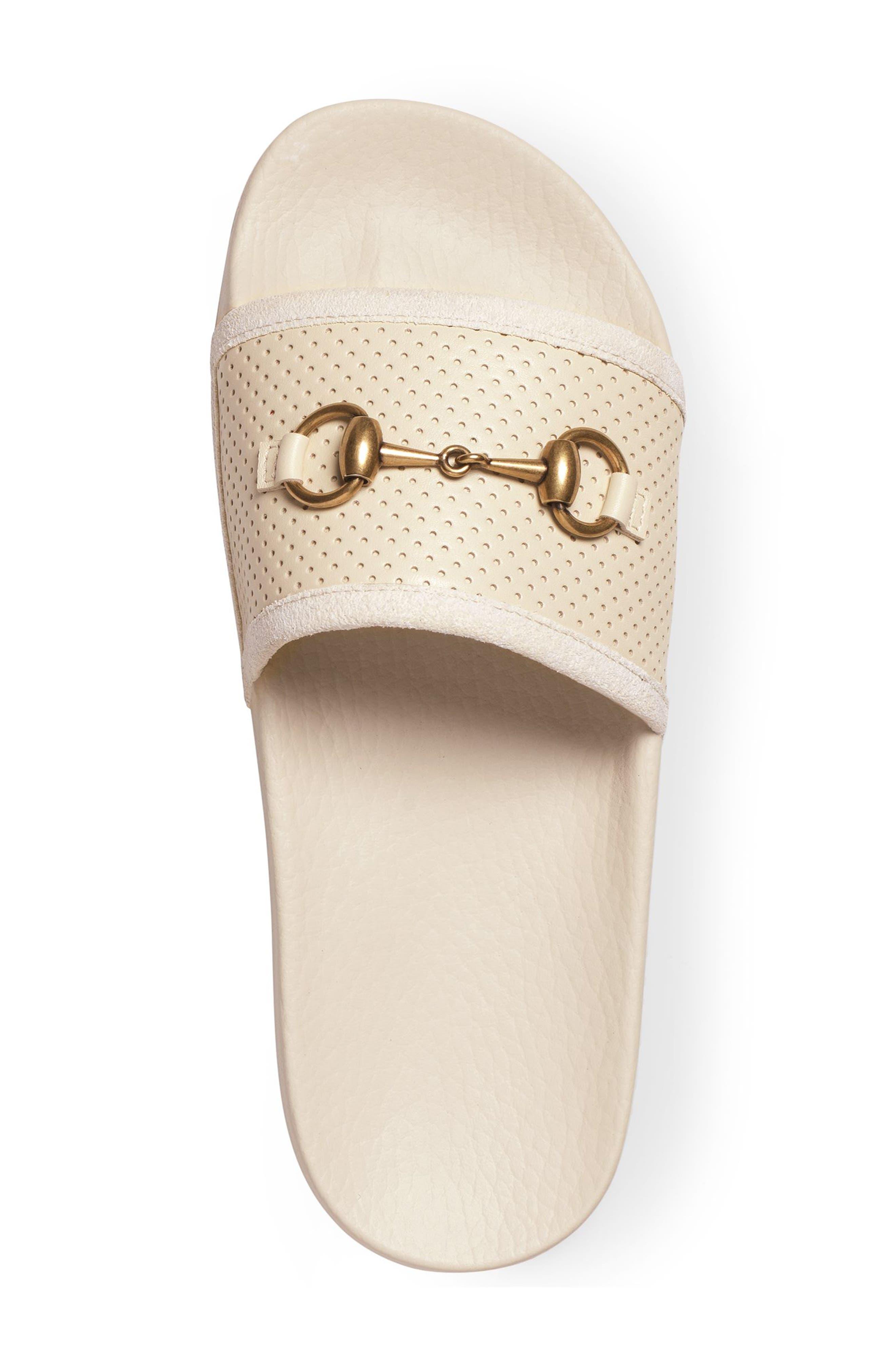 Alternate Image 3  - Gucci Pursuit Horsebit Slide Sandal (Women)
