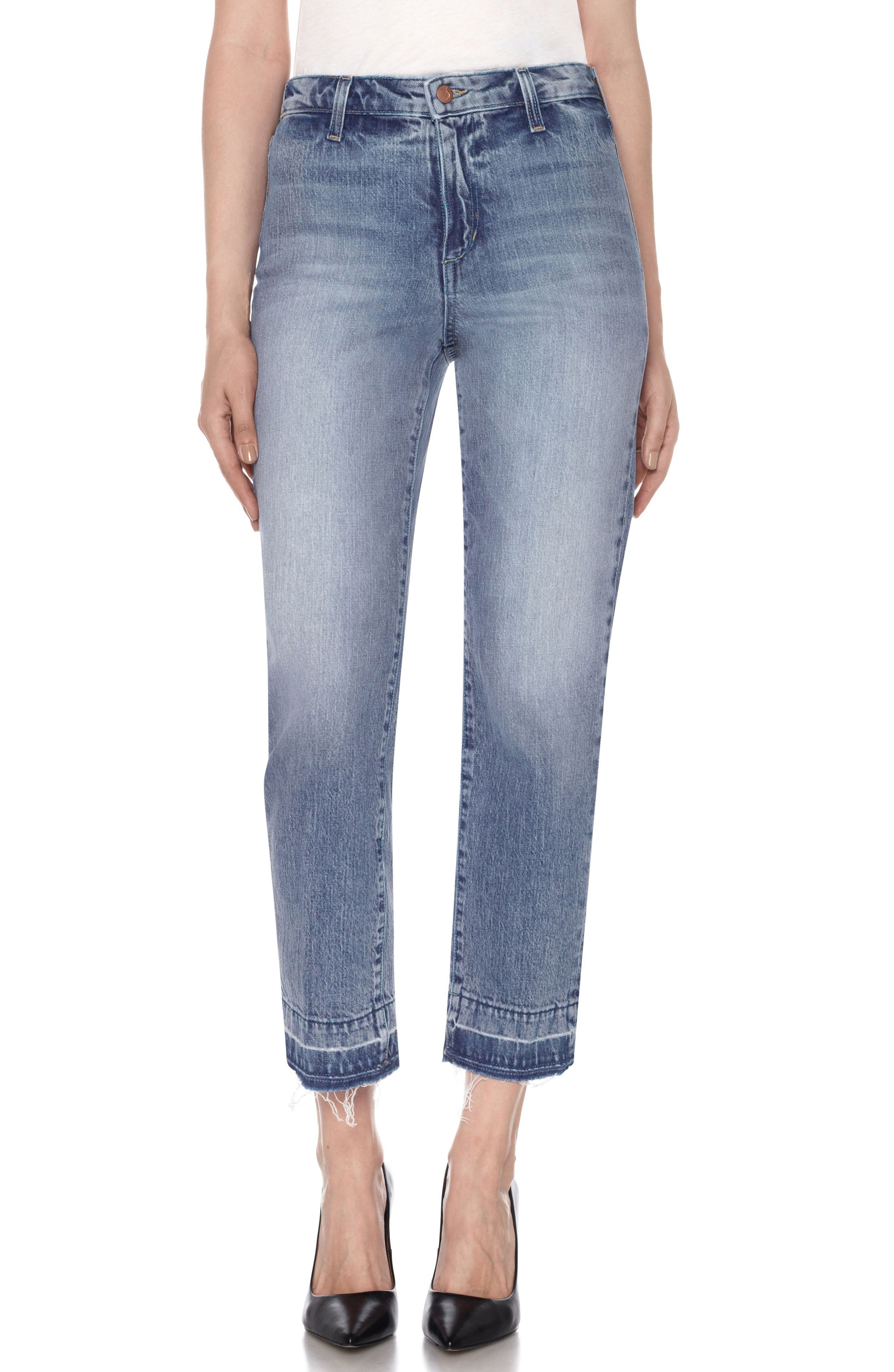 Main Image - Joe's Jane Crop Slim Boyfriend Jeans (Prairie)