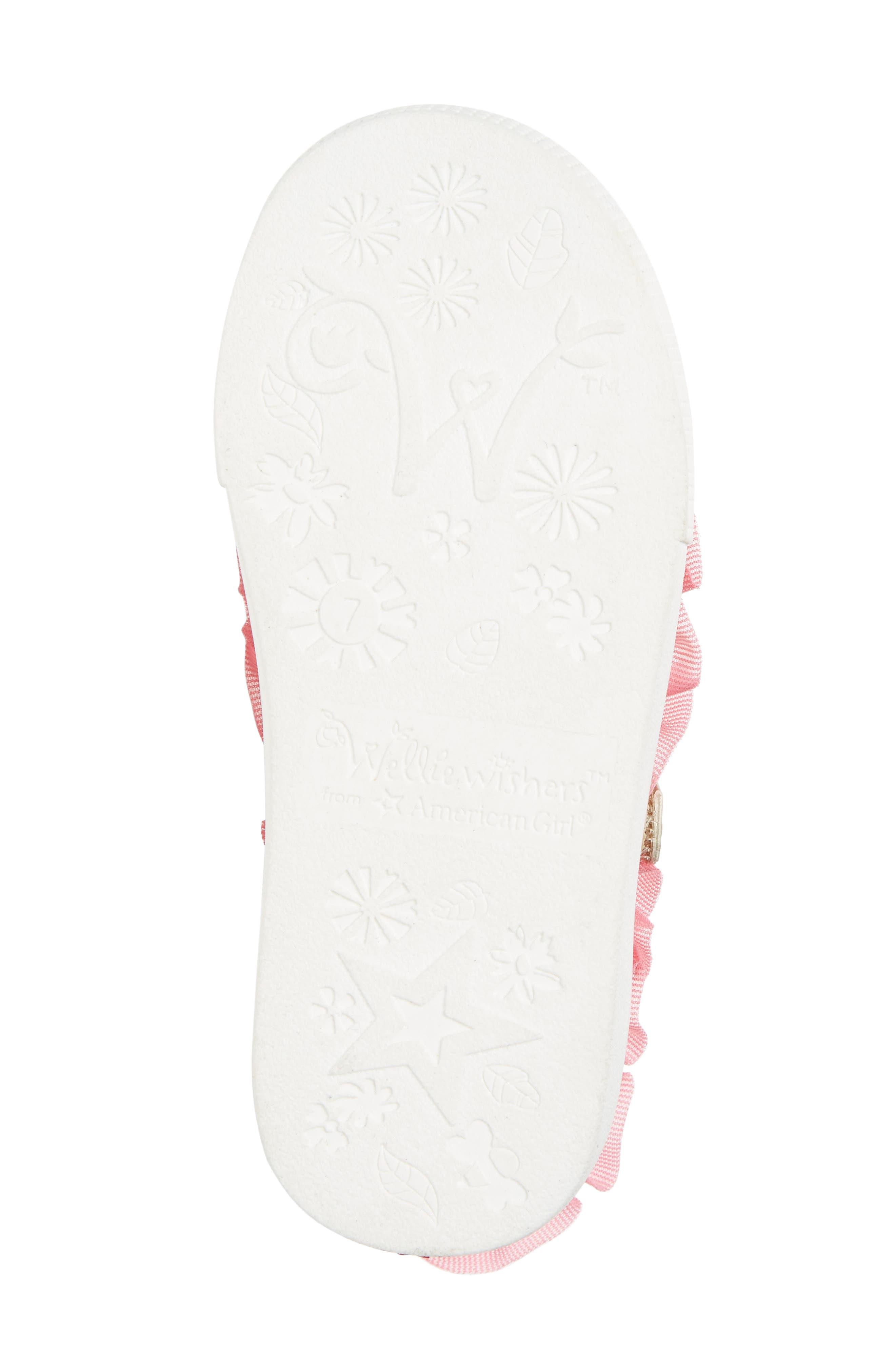 Ashlyn Tulle Mary Jane Sneaker,                             Alternate thumbnail 6, color,                             Gold